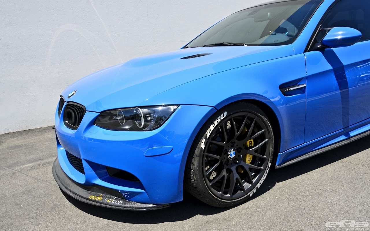 BMW M3 Blue Car
