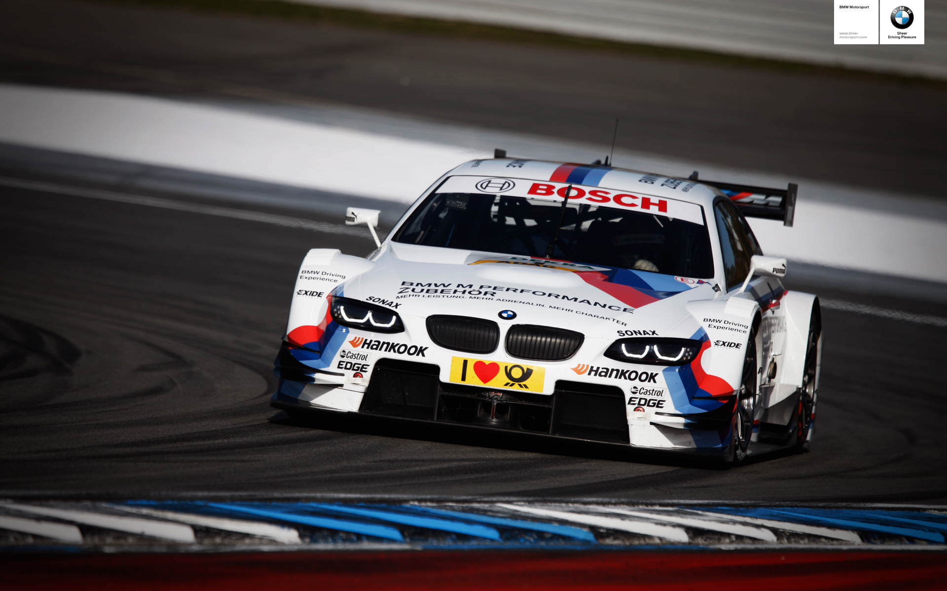 BMW DTM Cars - photo gallery