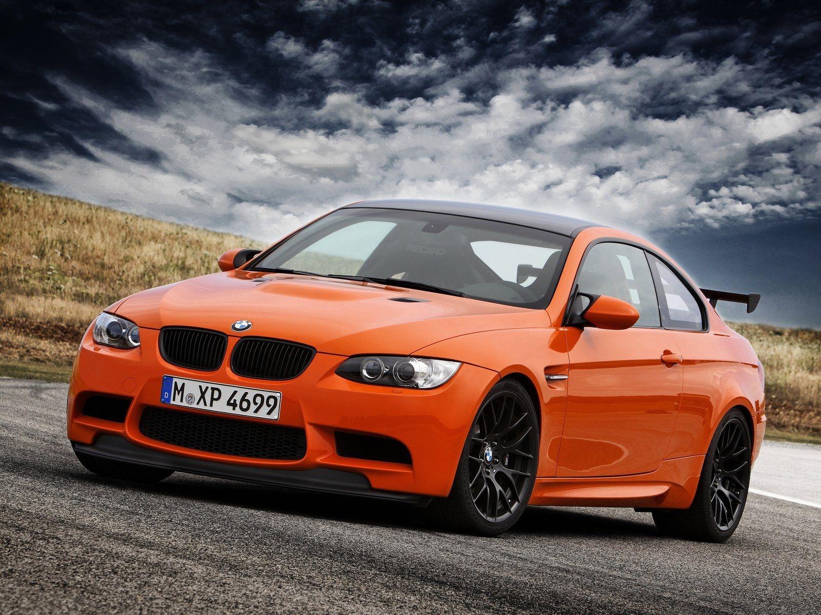 BMW M3 E92 Orange
