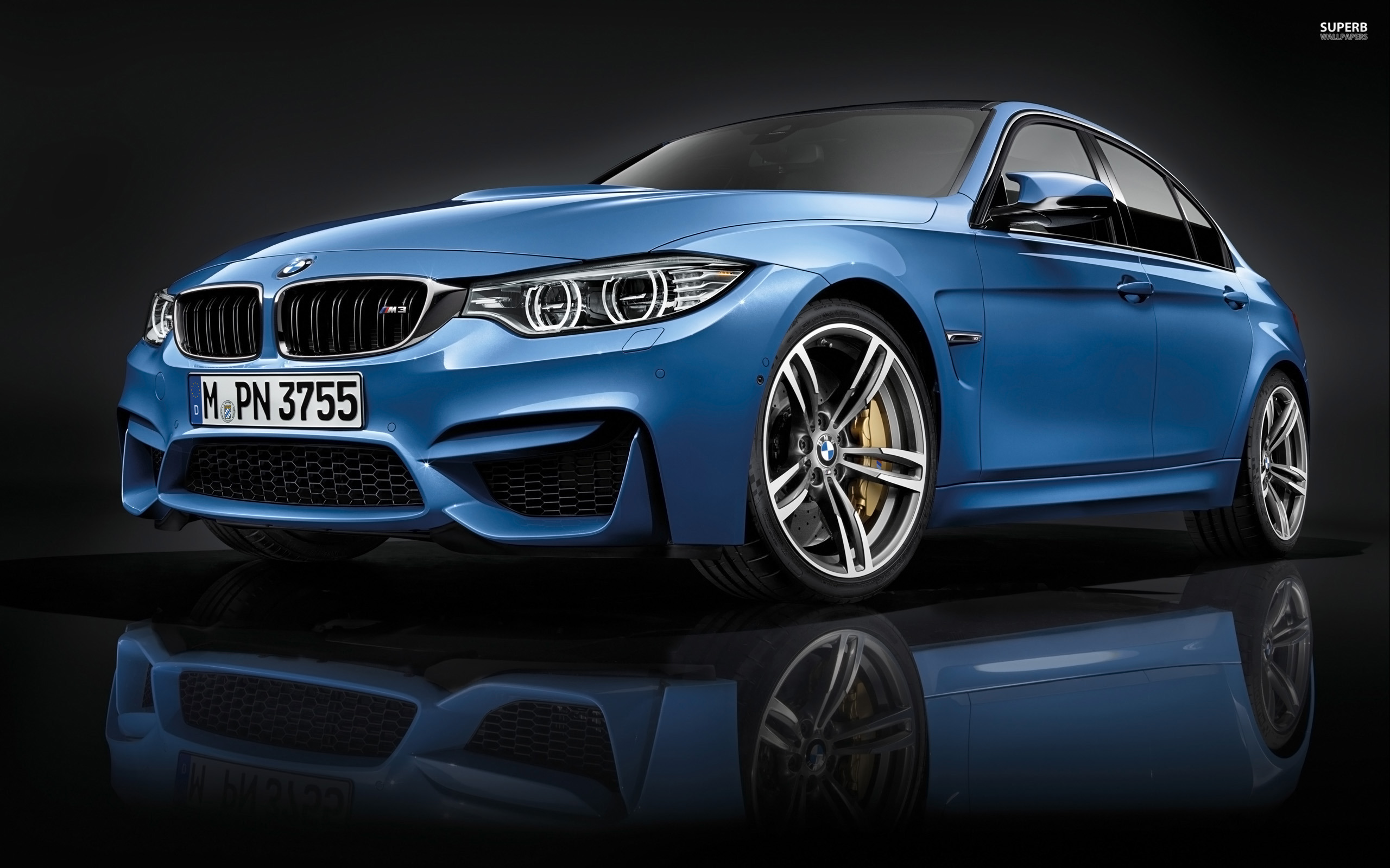 2014 BMW M3 Sedan wallpaper 2560x1600 jpg