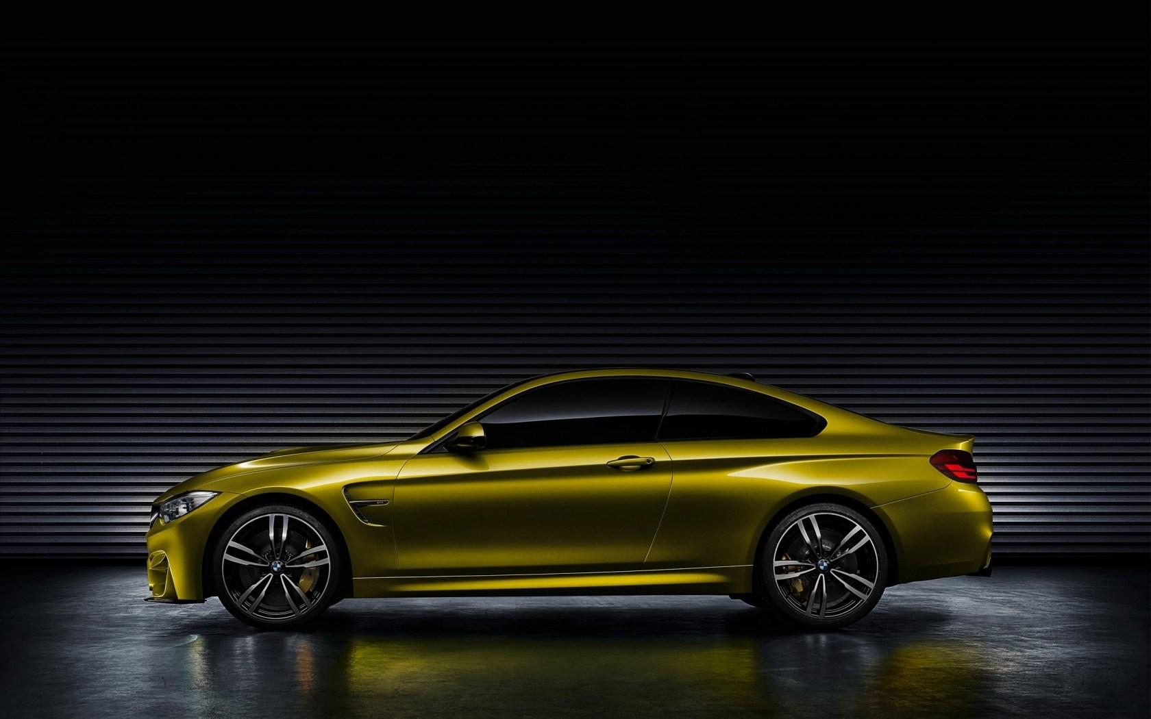 BMW M4 Coupe Concept Car Side