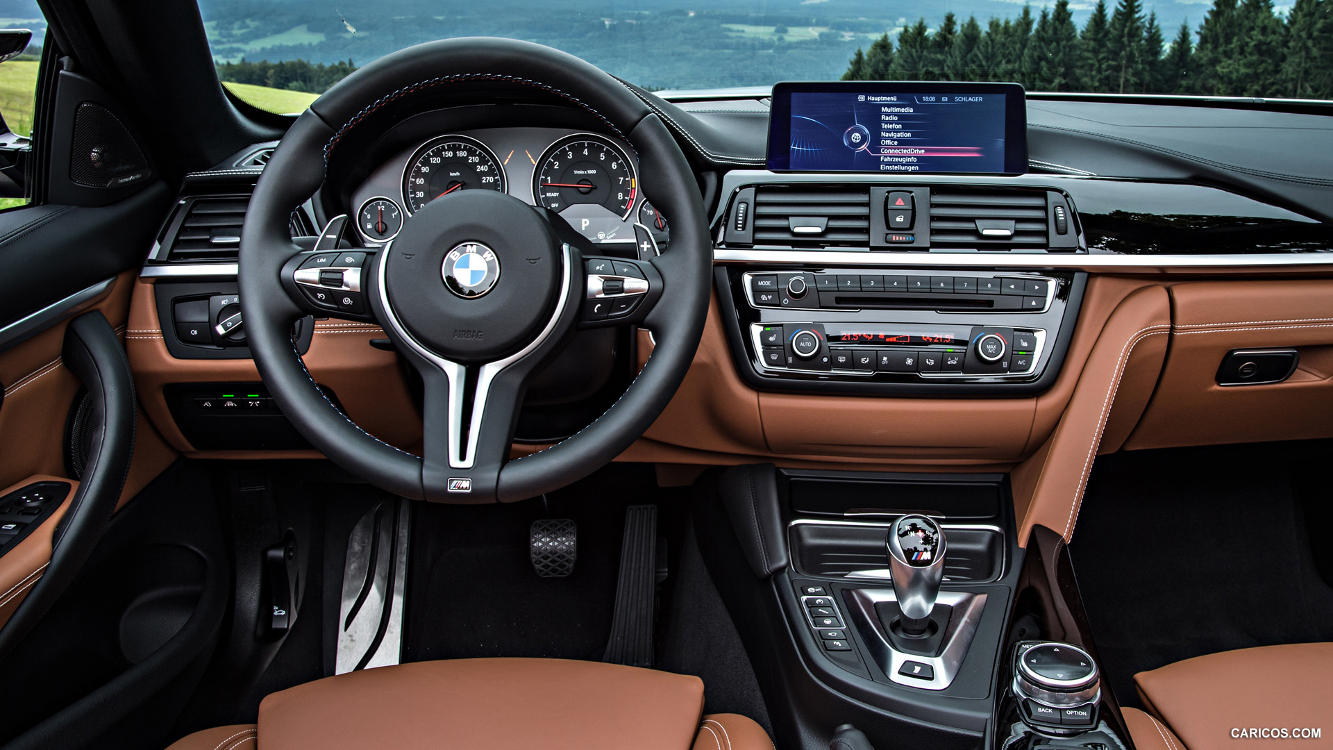 2015 BMW M4 Convertible - Interior Wallpaper