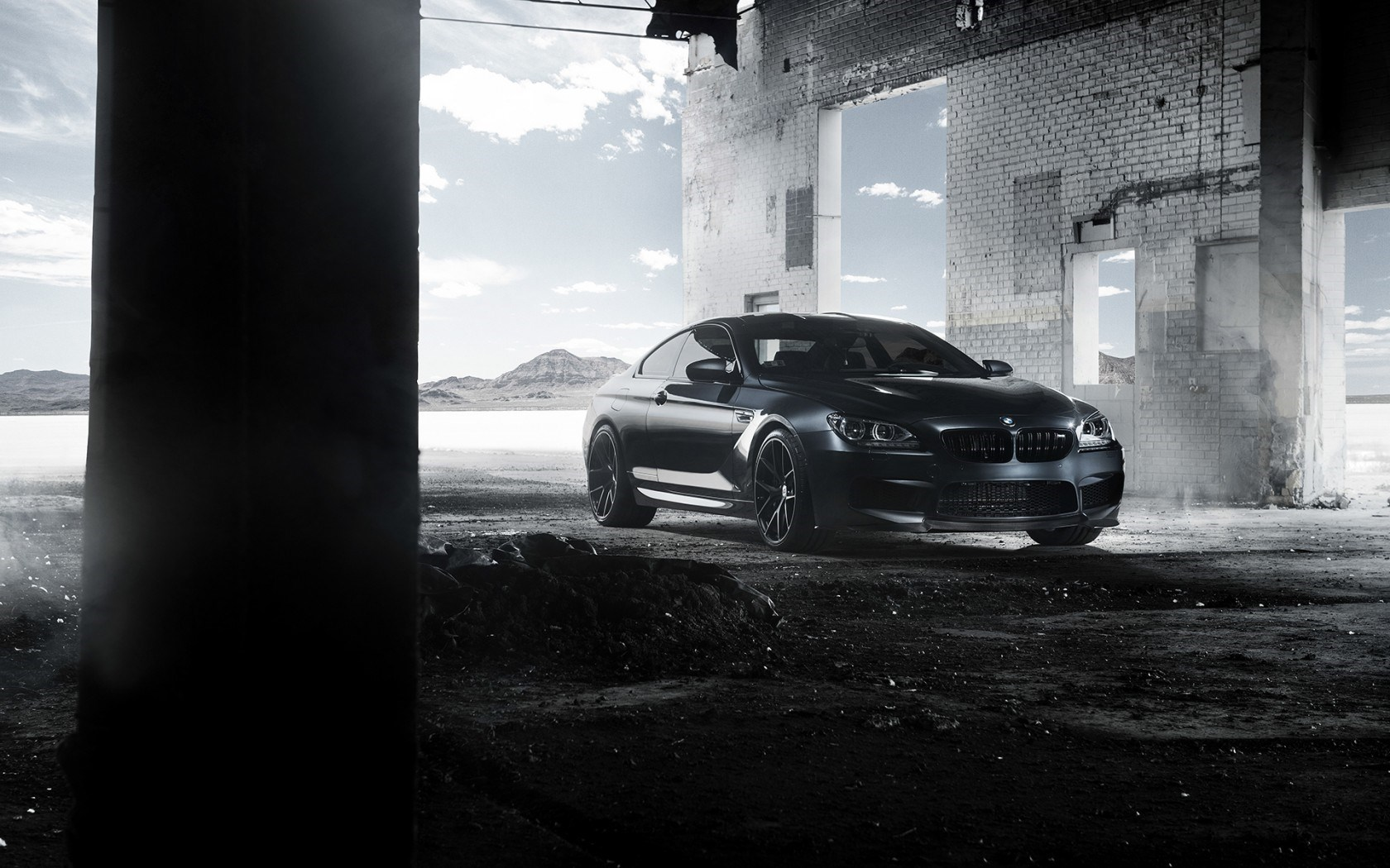 BMW M6 Coupe F13 Black Car Tuning