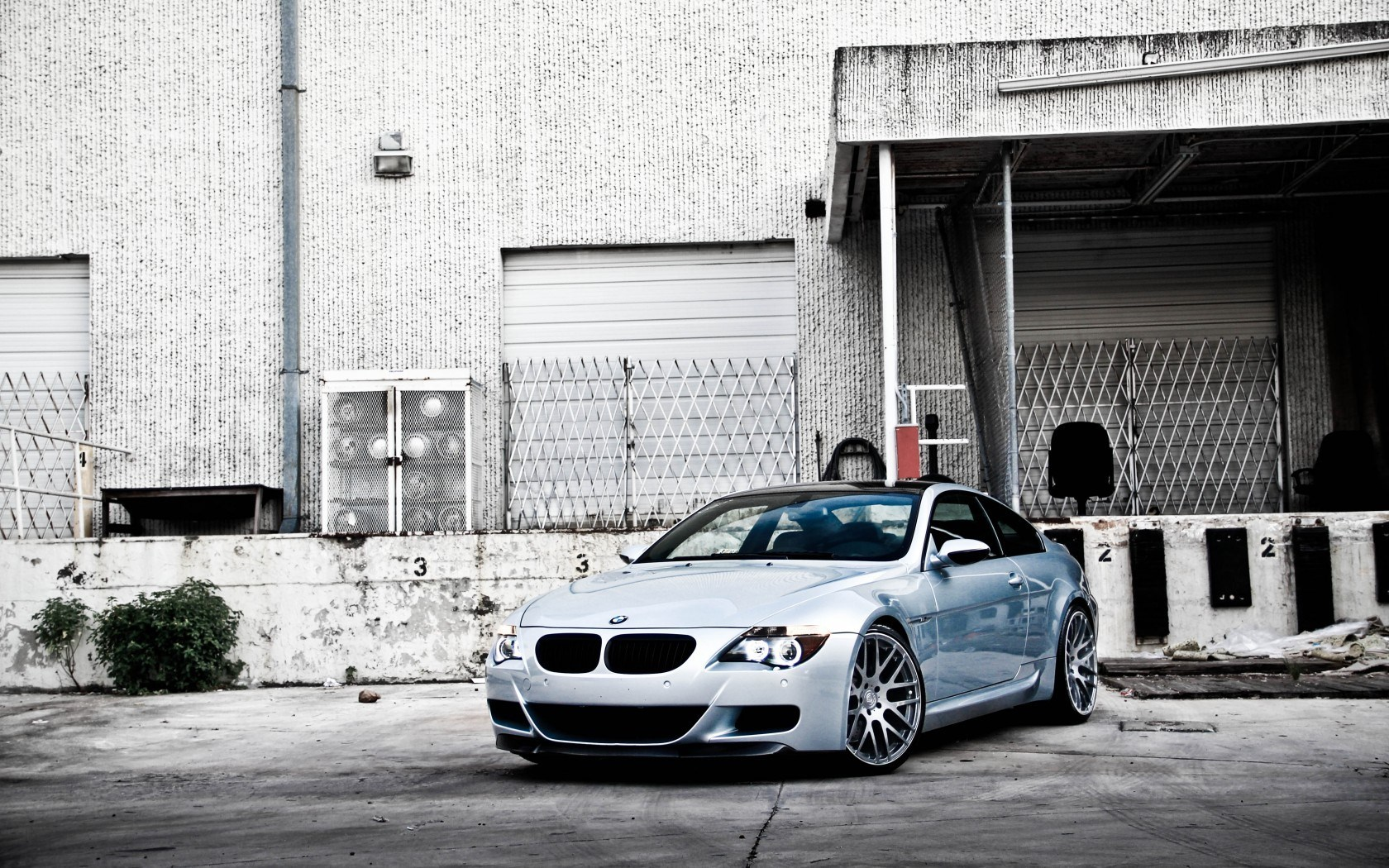 BMW M6 Silver Amazing Photo