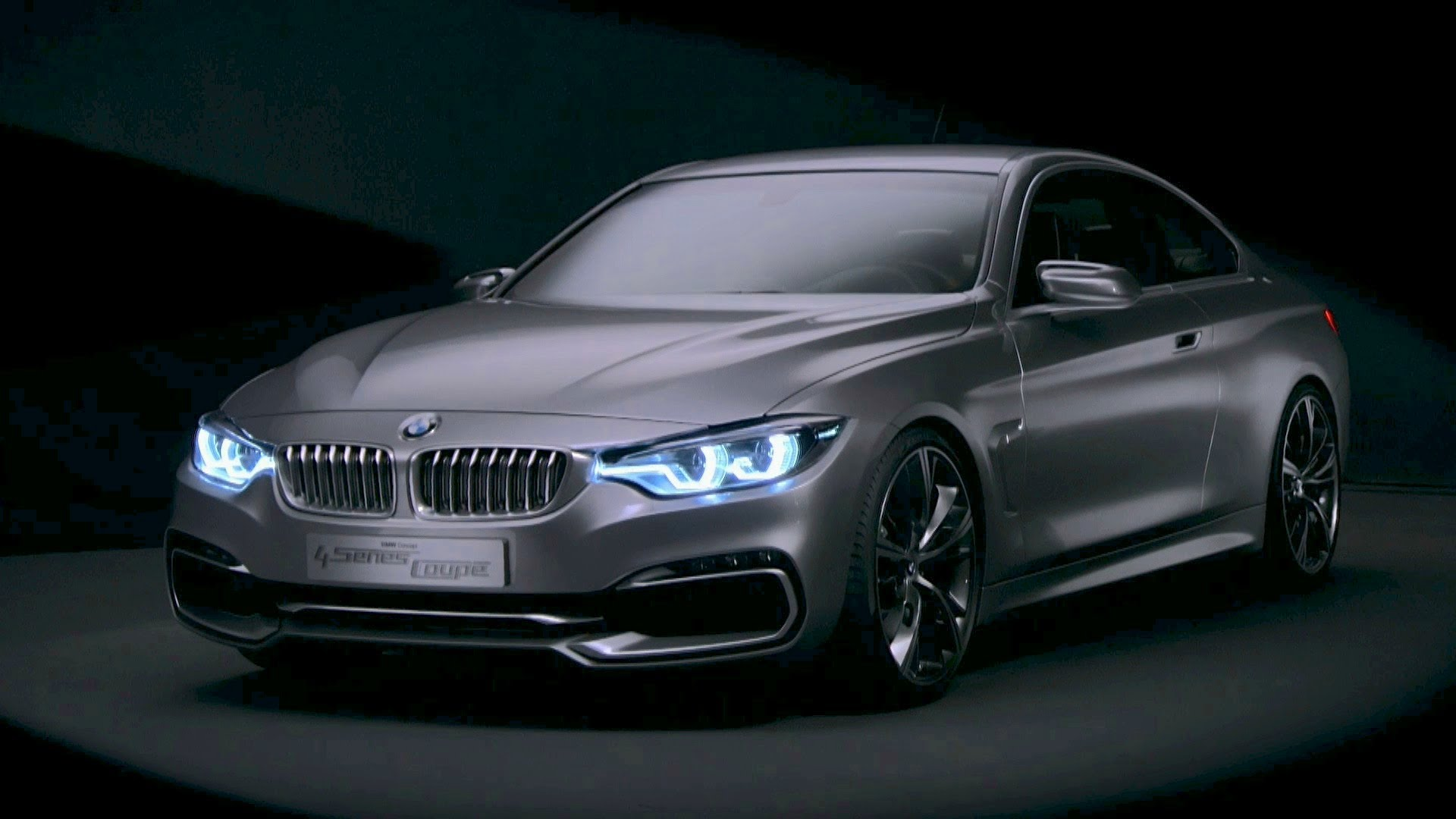 BMW Concept 4 Series Coupé.