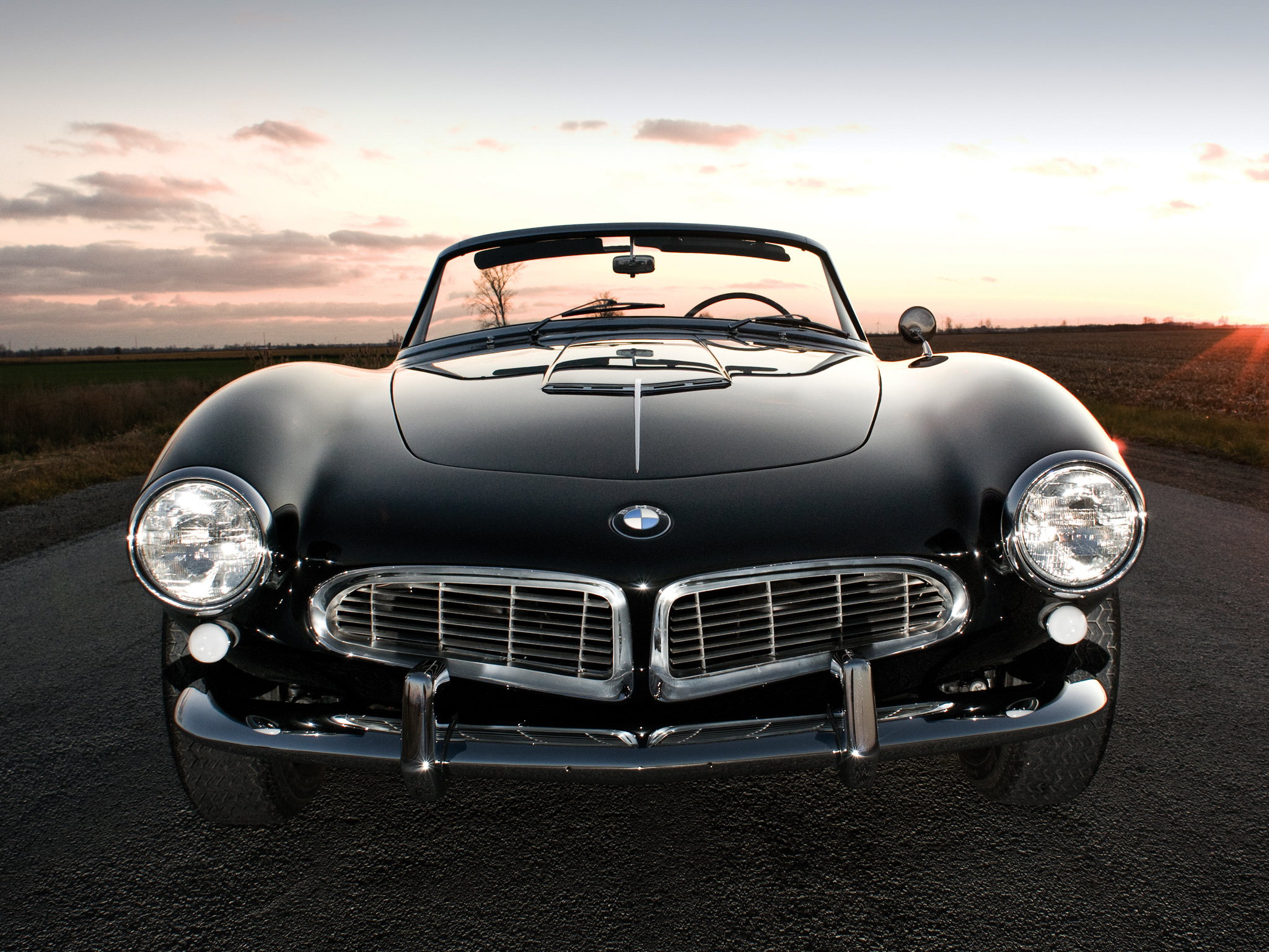 We also know that the 507 is one of the most beautiful BMWs ever made. It's also one of the only cars with a mustache.