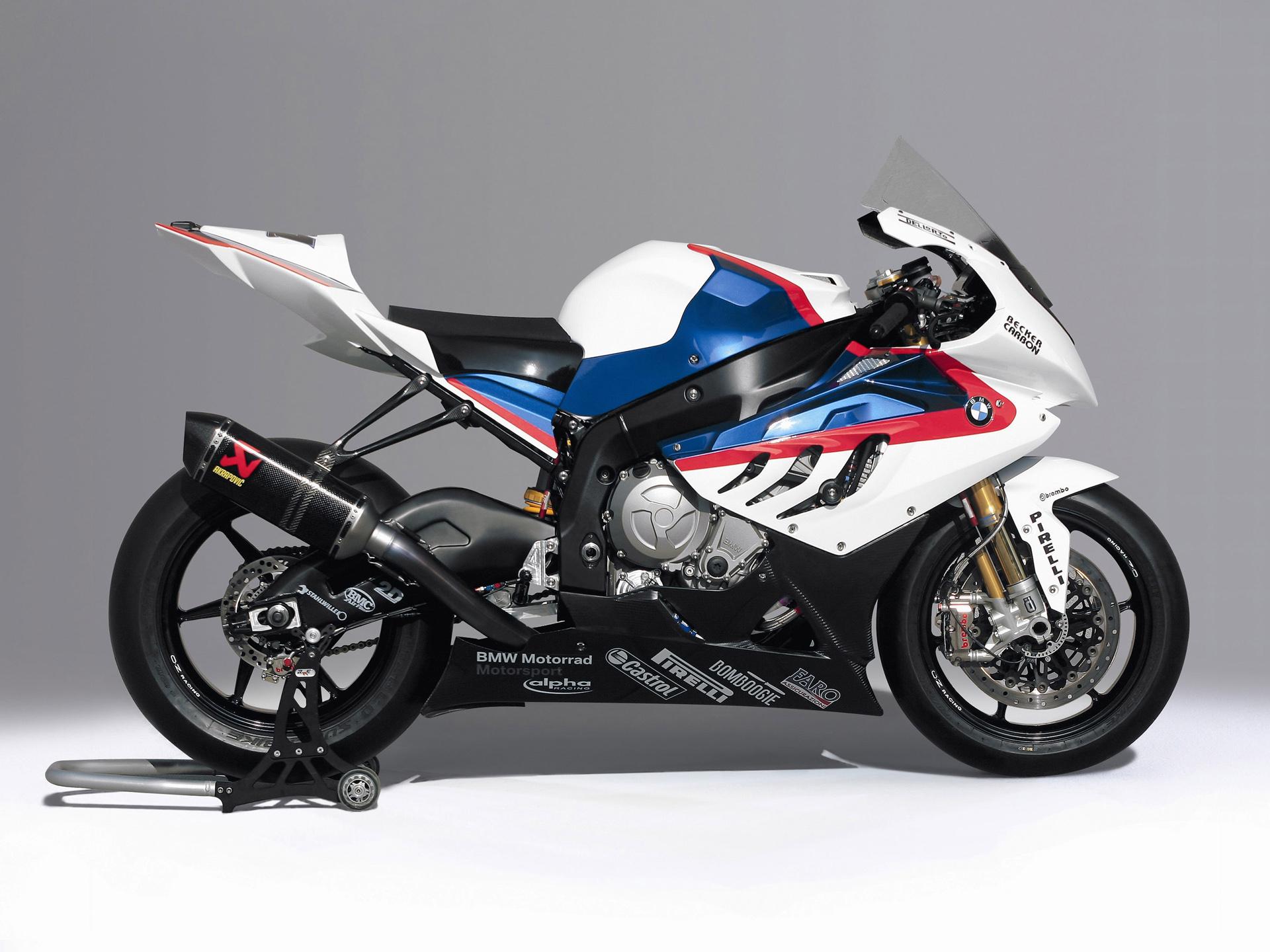 ... BMW S 1000 RR SBK racebike ...