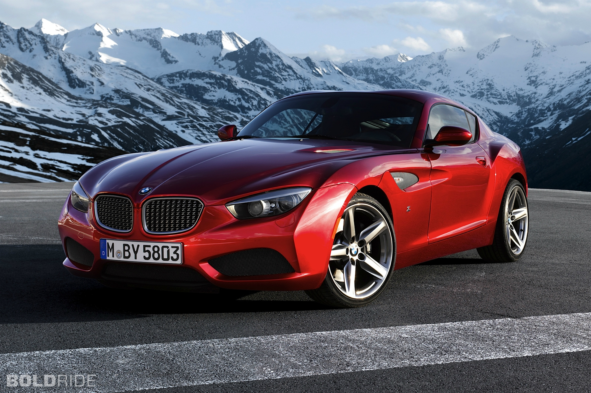 2012 BMW Zagato Coupe 1024 x 770