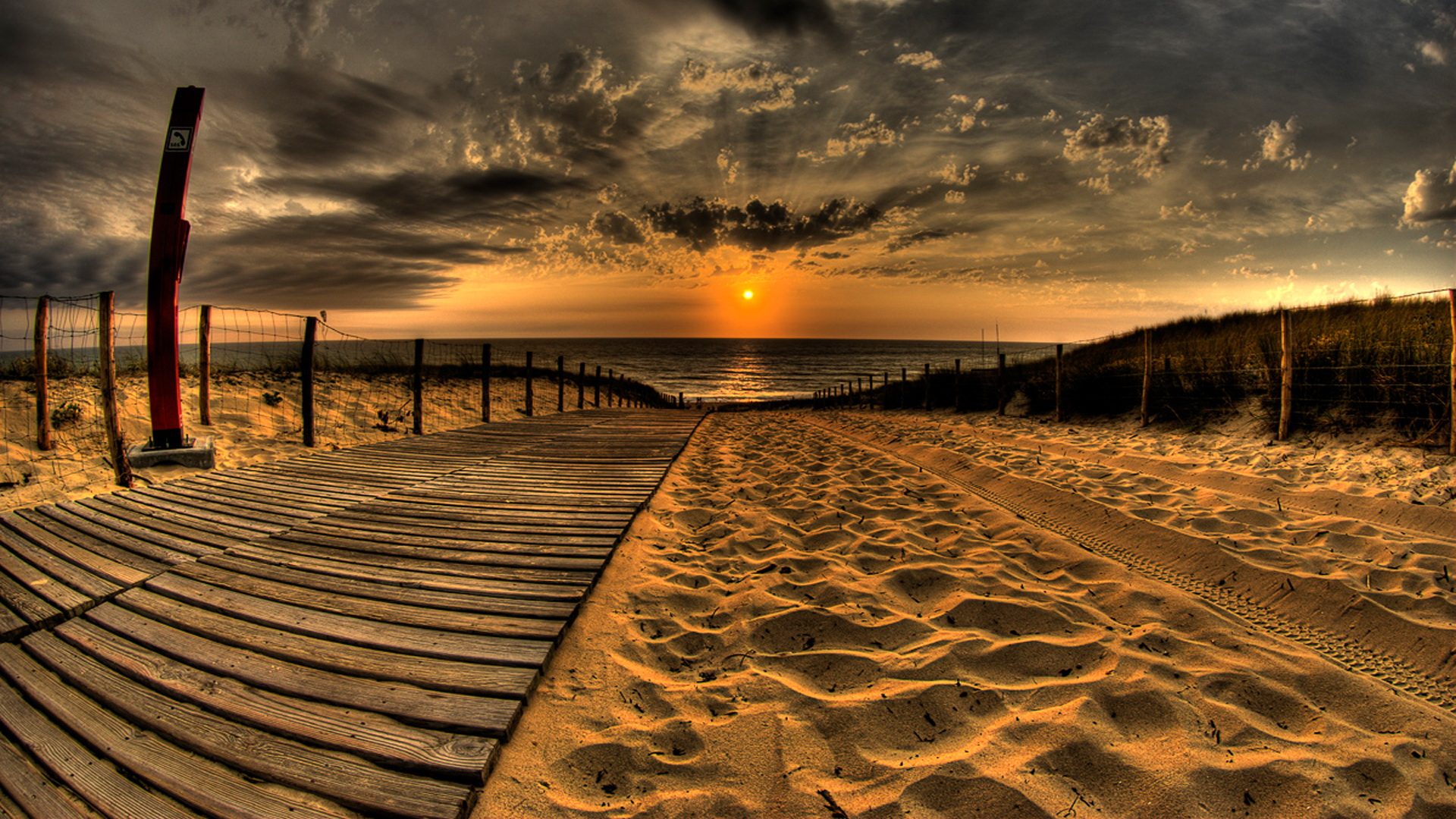 Boardwalk Wallpaper 4526