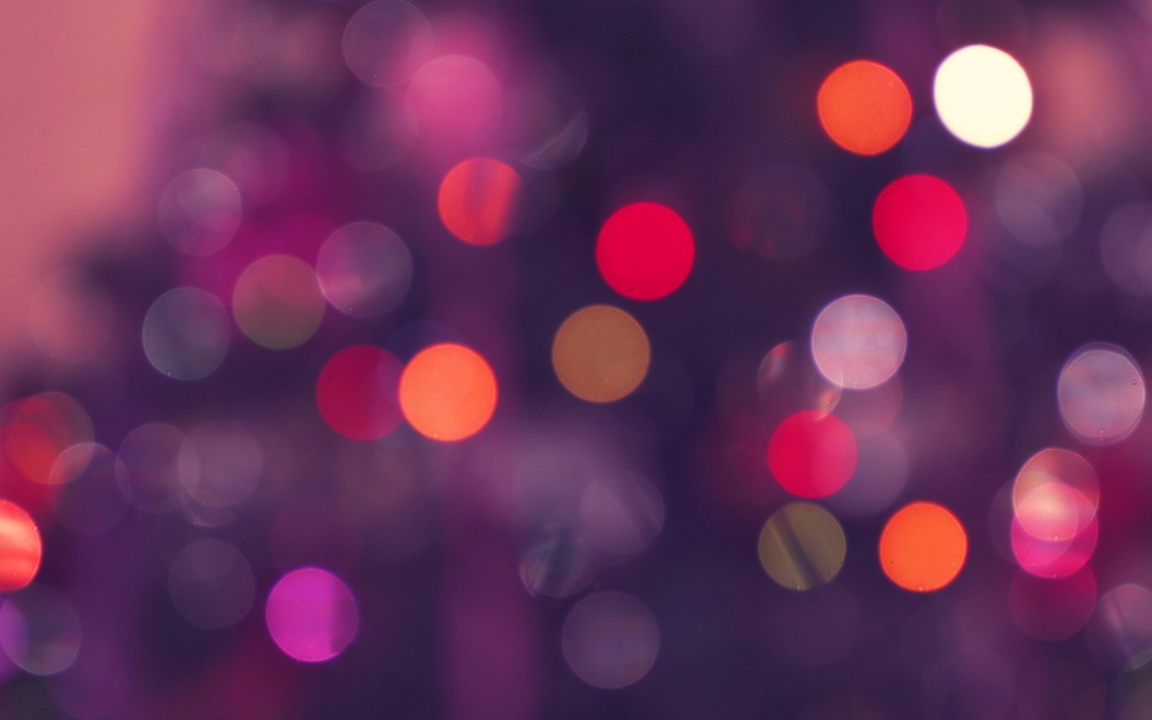 Bokeh Circles Photo