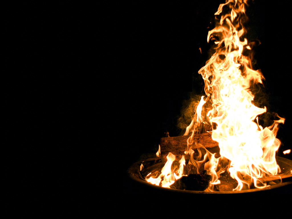 Bonfire Wallpaper