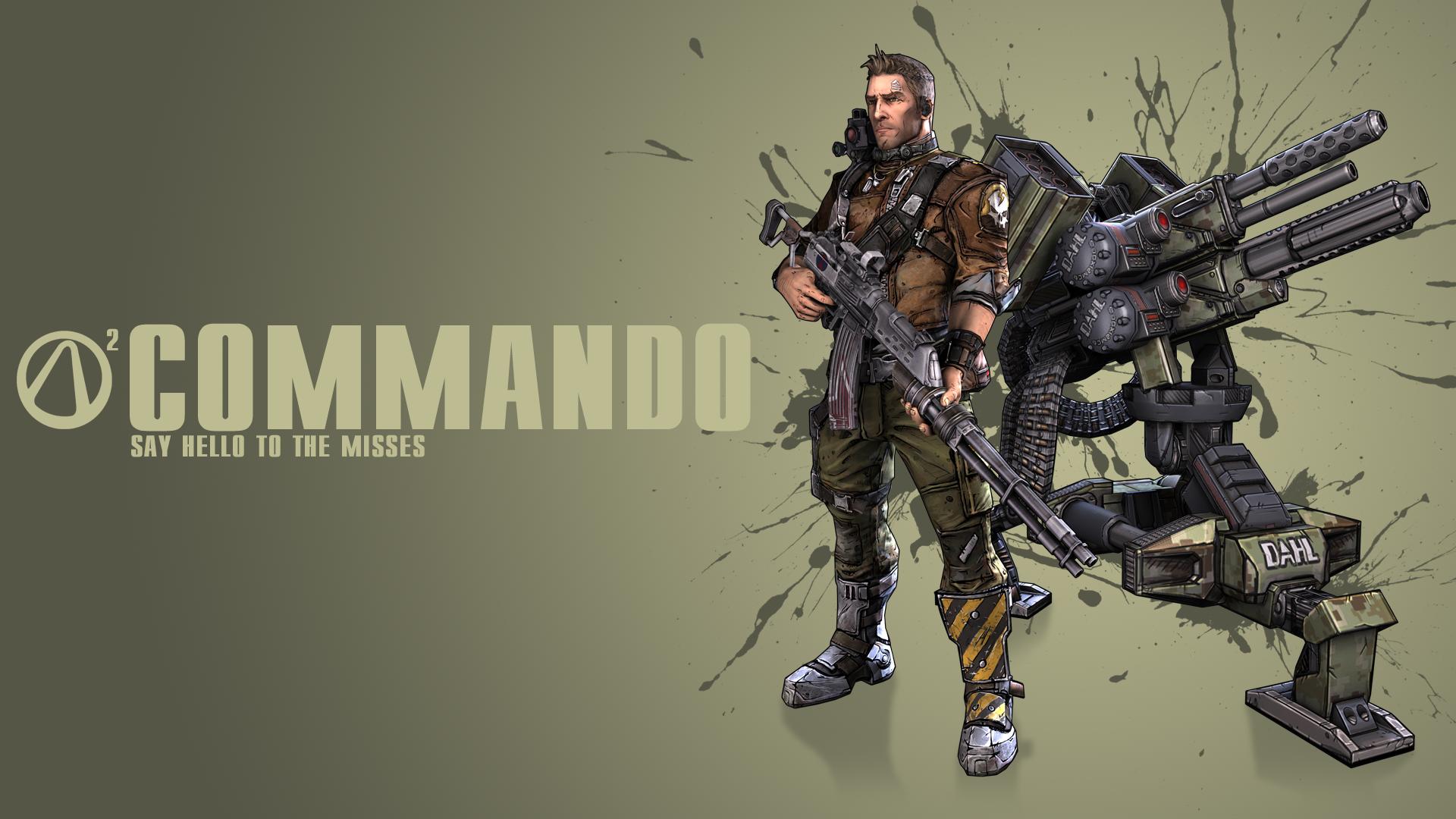 Borderlands 2 Commando