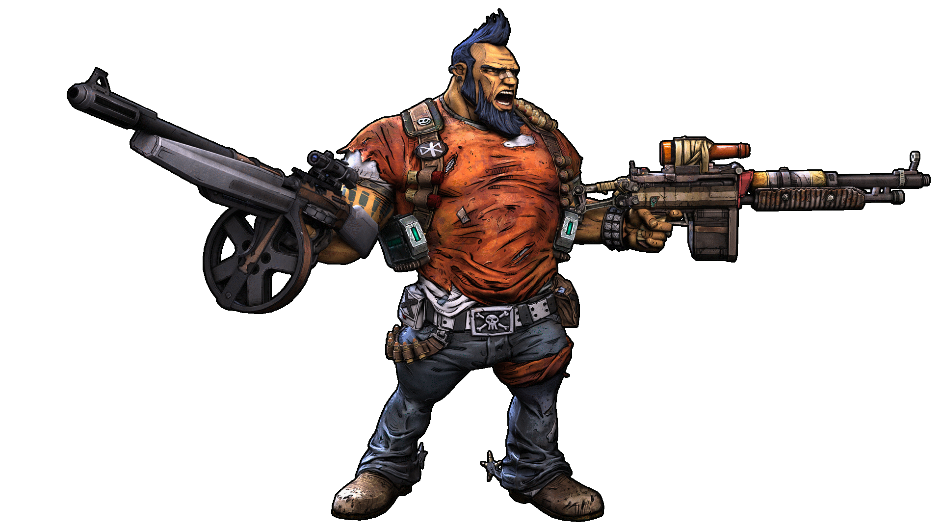Borderlands2 skill calculator. Salvador. Level 5 Gunzerker