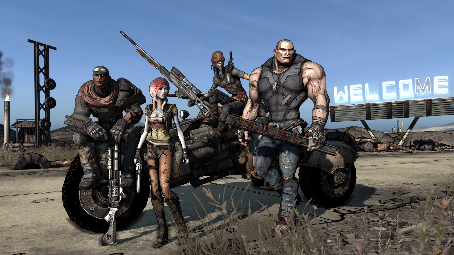 HD Wallpaper | Background ID:75104. 1920x1080 Video Game Borderlands