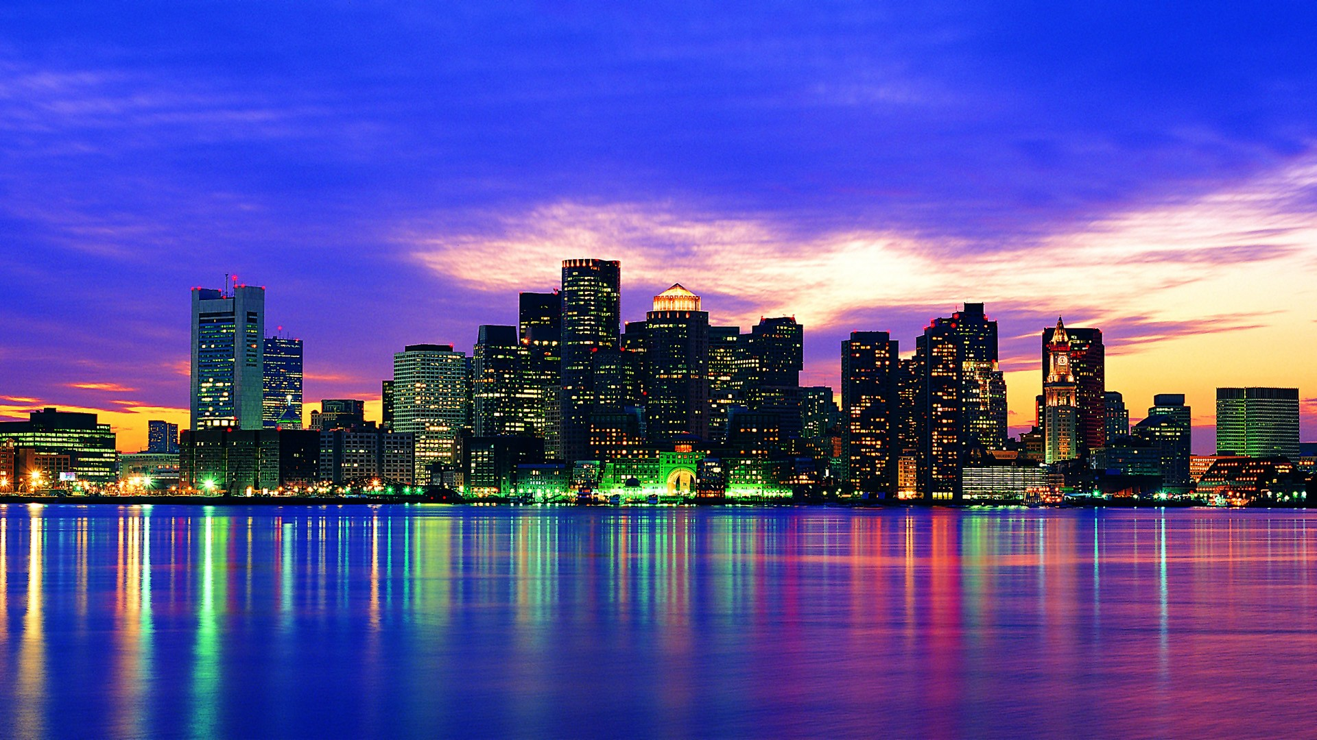 Boston wallpaper 1