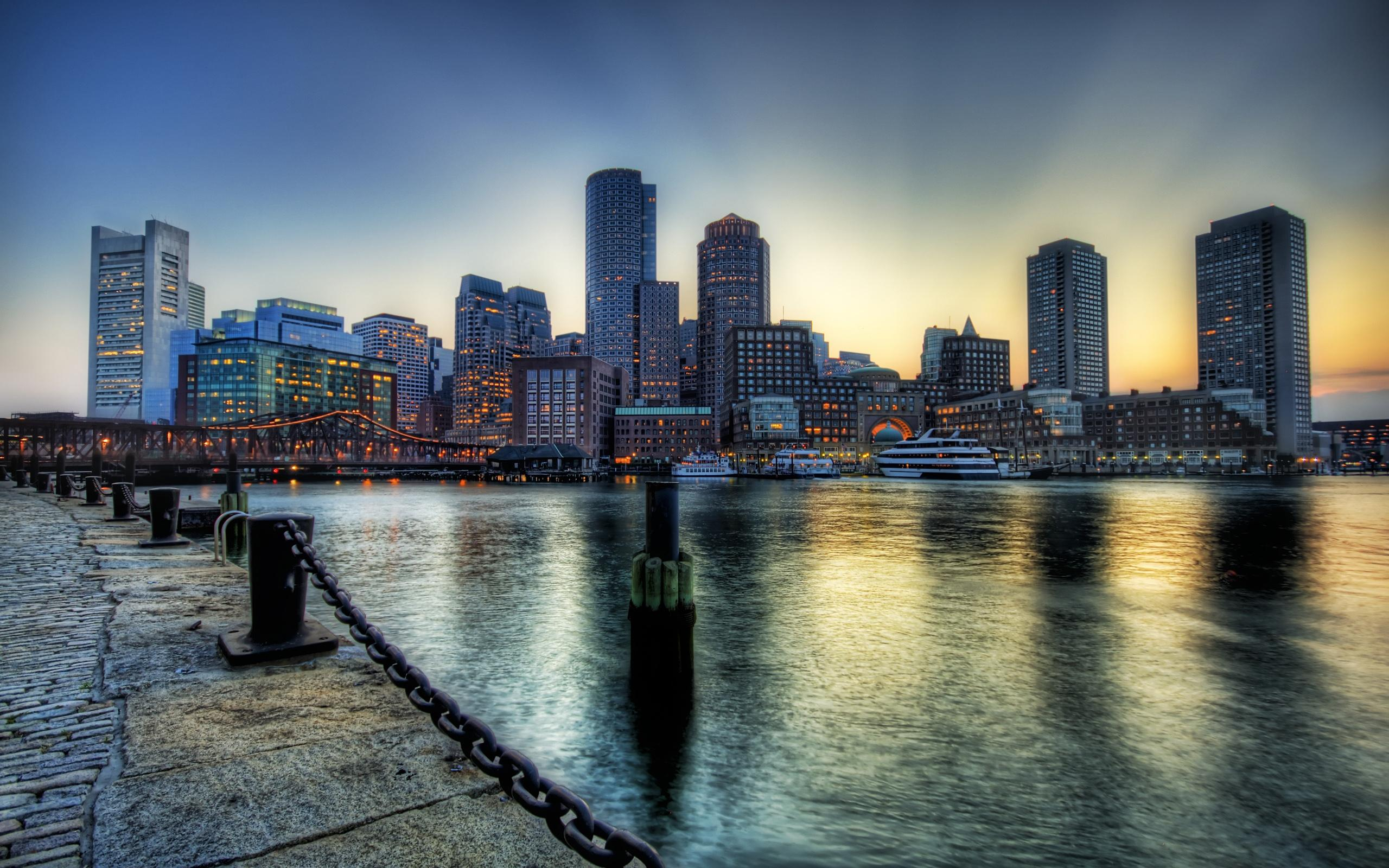 Boston Wallpaper