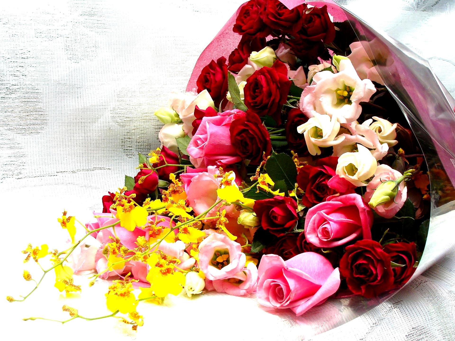 Flowers Bouquet HD Wallpaper