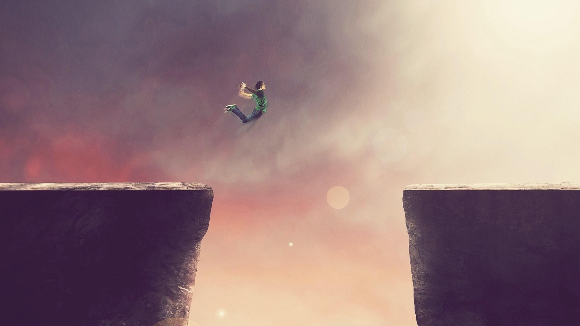Boy Jump Art
