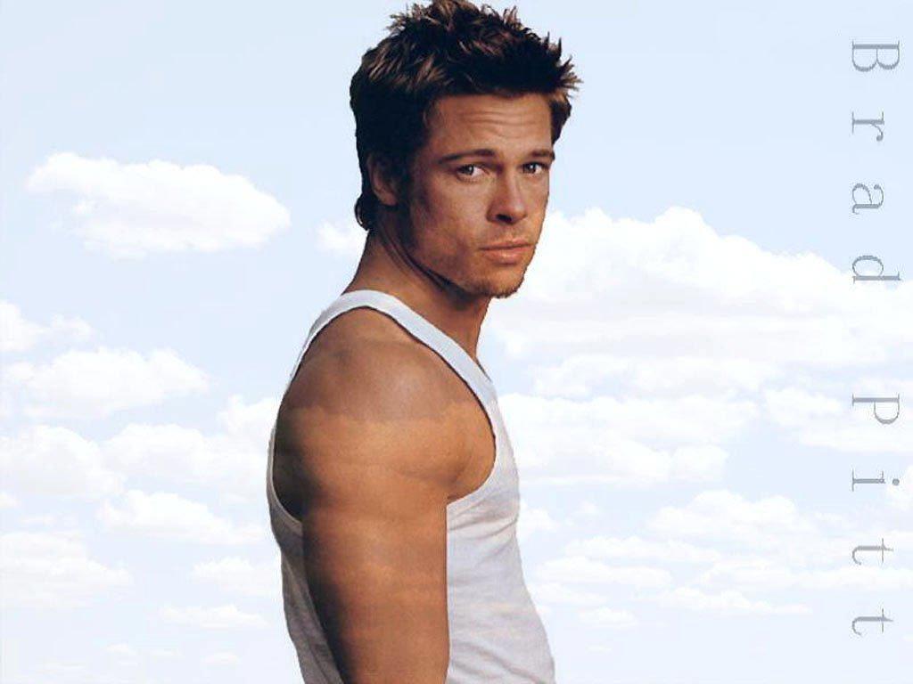 Brad Pitt Hd Background Wallpaper 26 Thumb