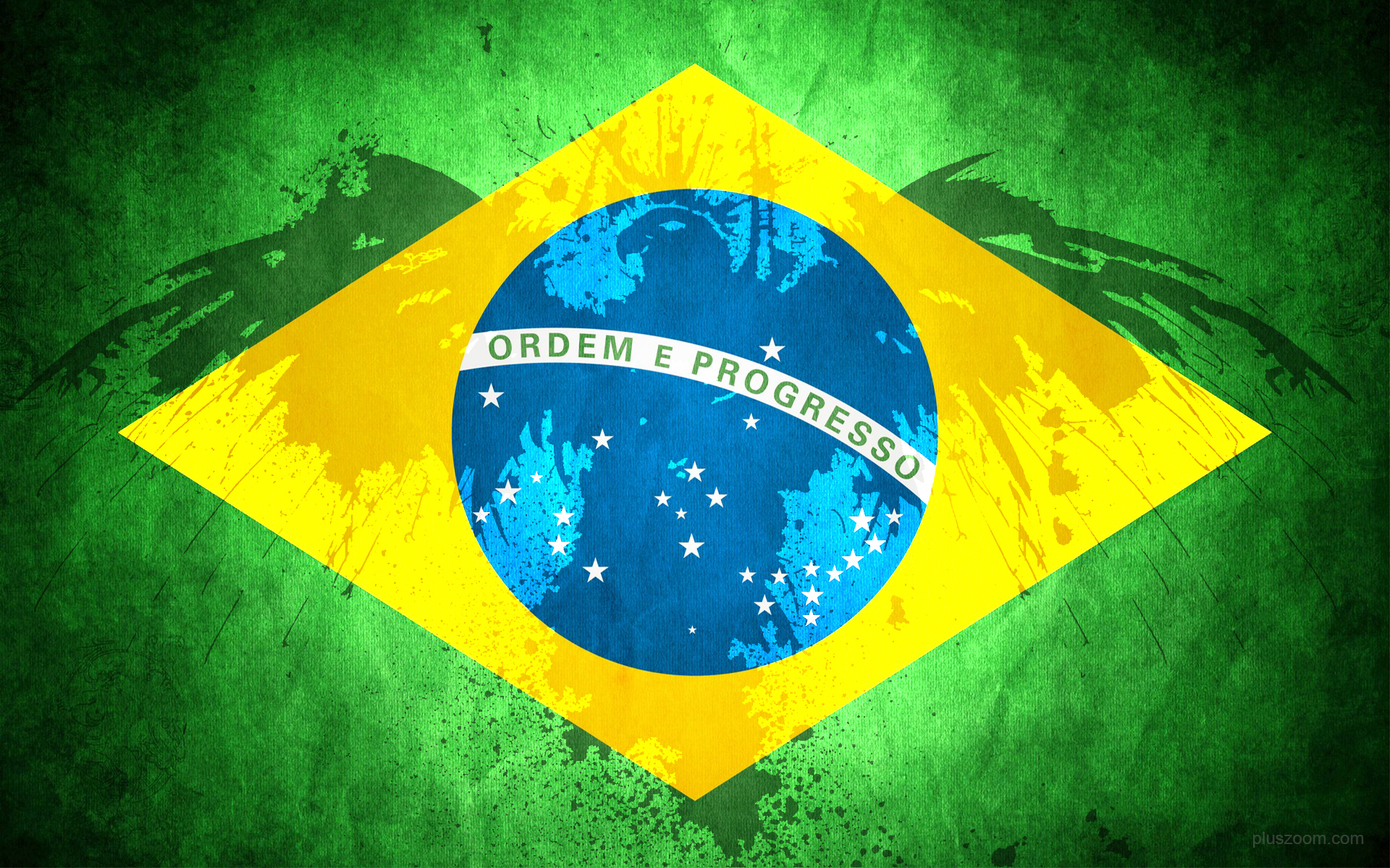 Colors Name Brazil Flag Wallpaper 1920x1200 81060