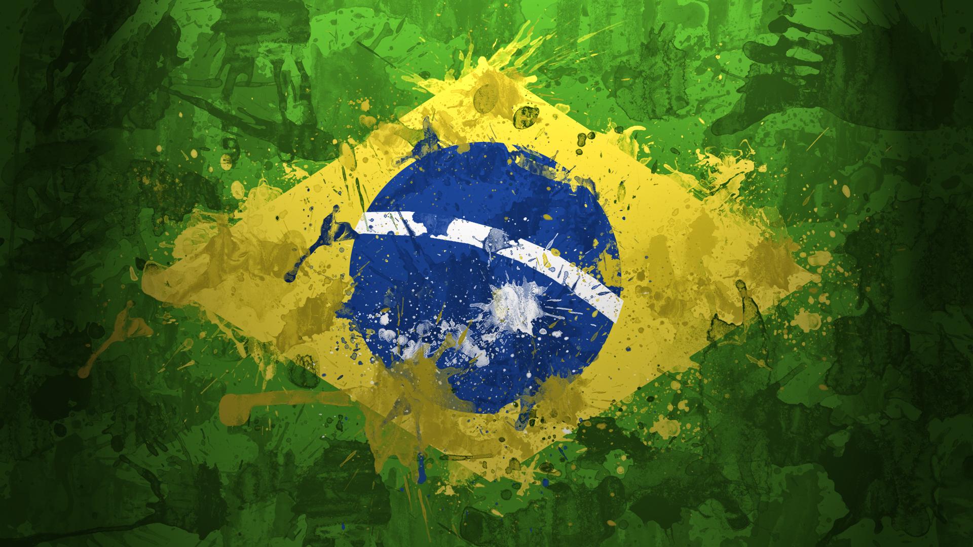 Brazil Vintage Flag