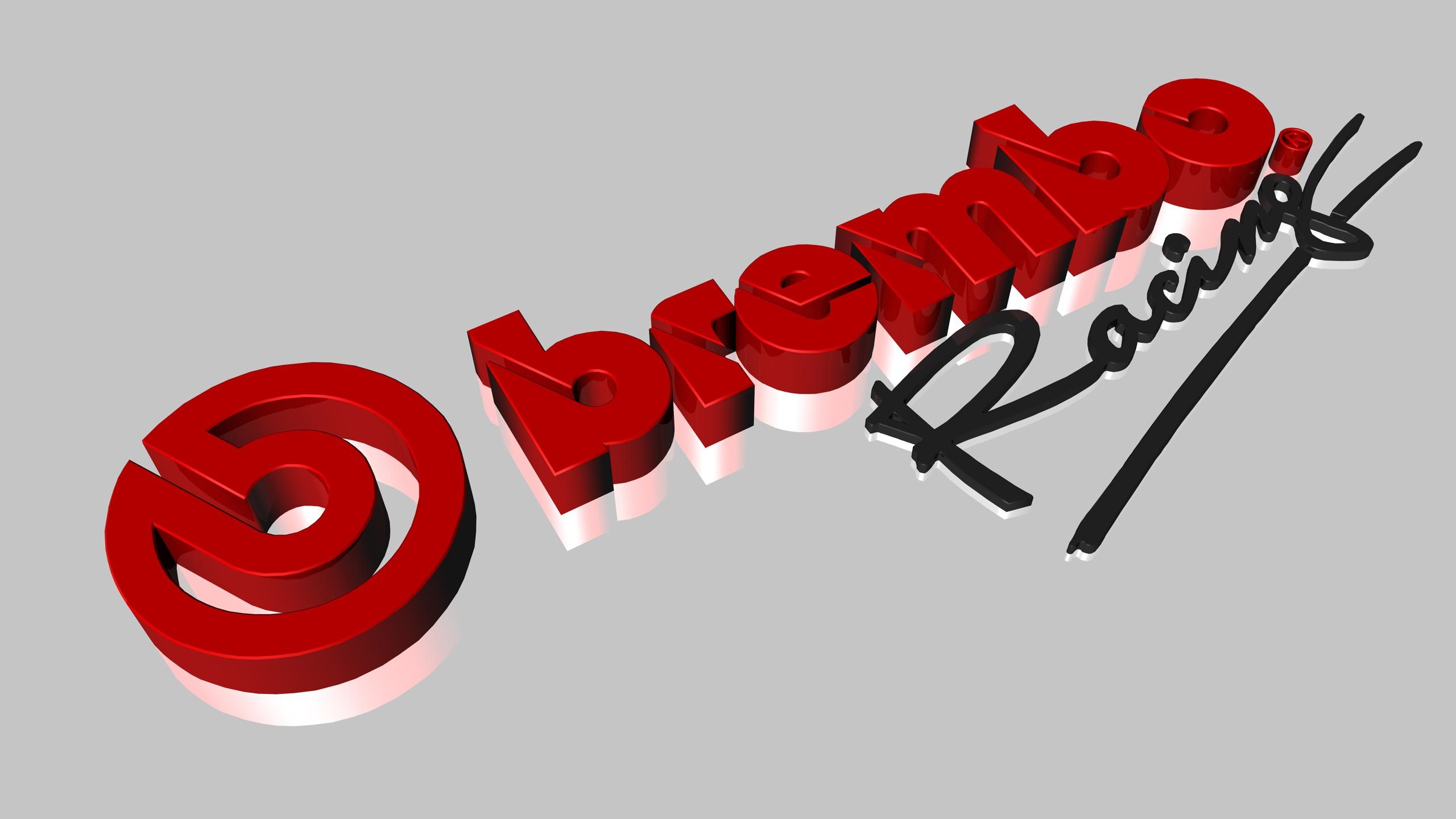 brembo racing 3D logo by badboy2kxxx brembo racing 3D logo by badboy2kxxx