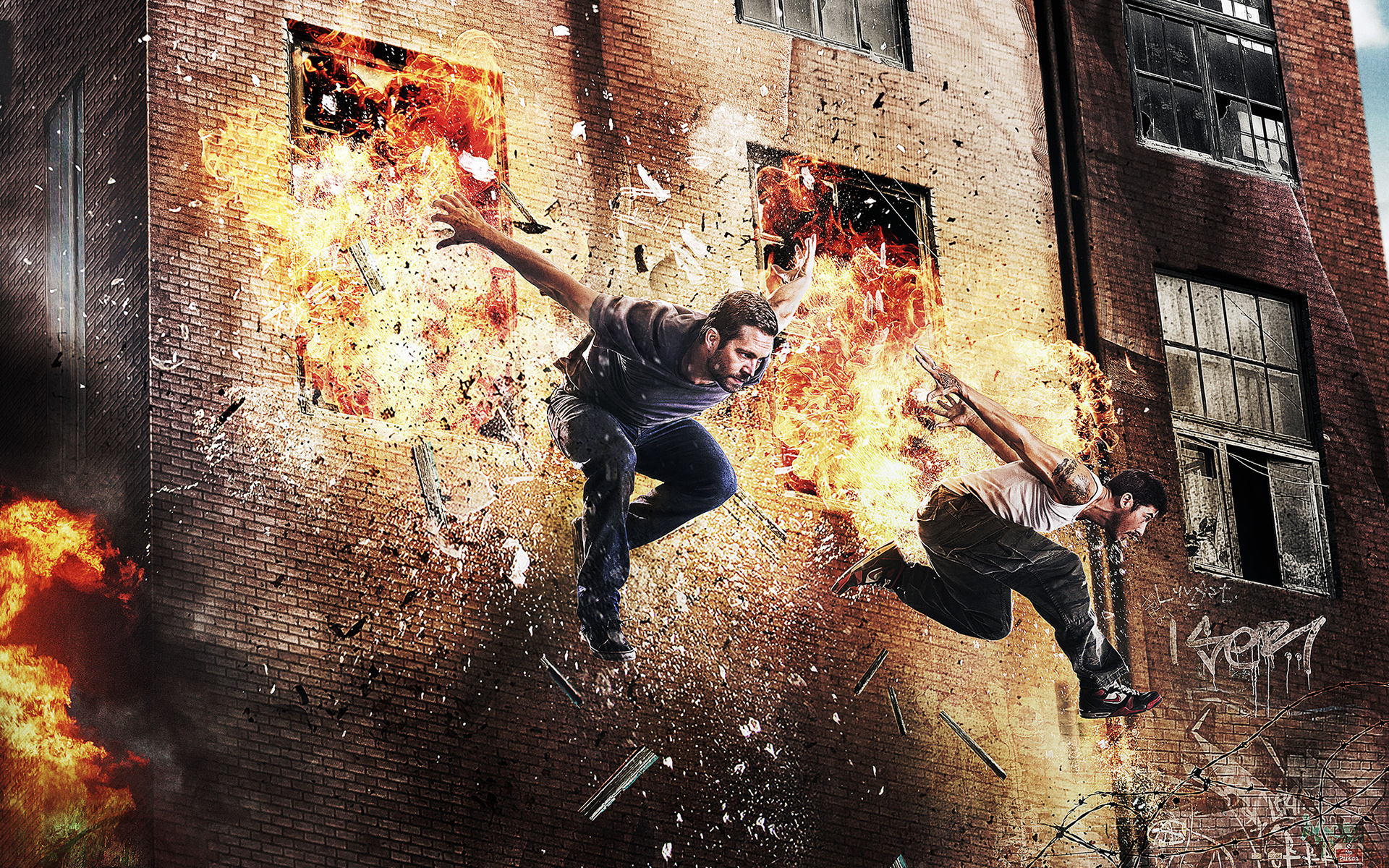 Paul Walker David Belle Brick Mansions