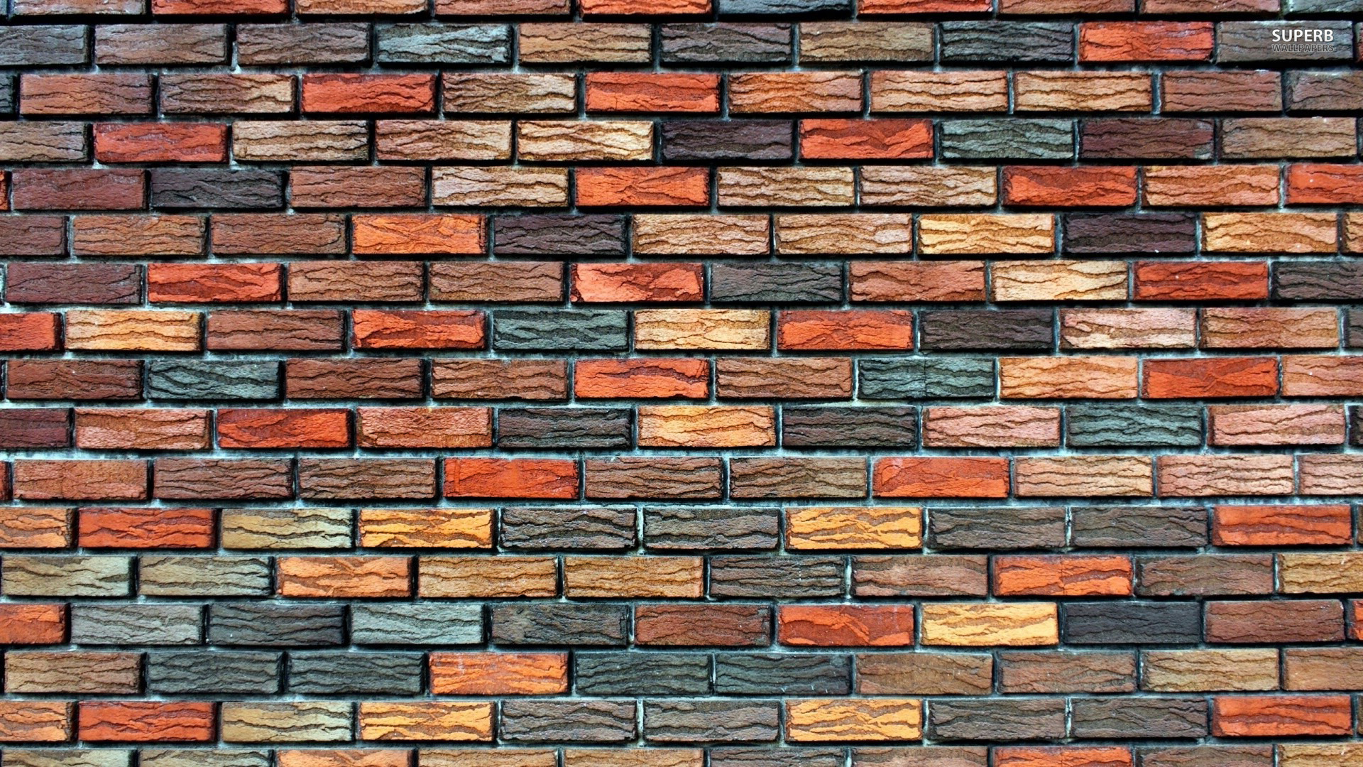 Brick wall wallpaper 1920x1080
