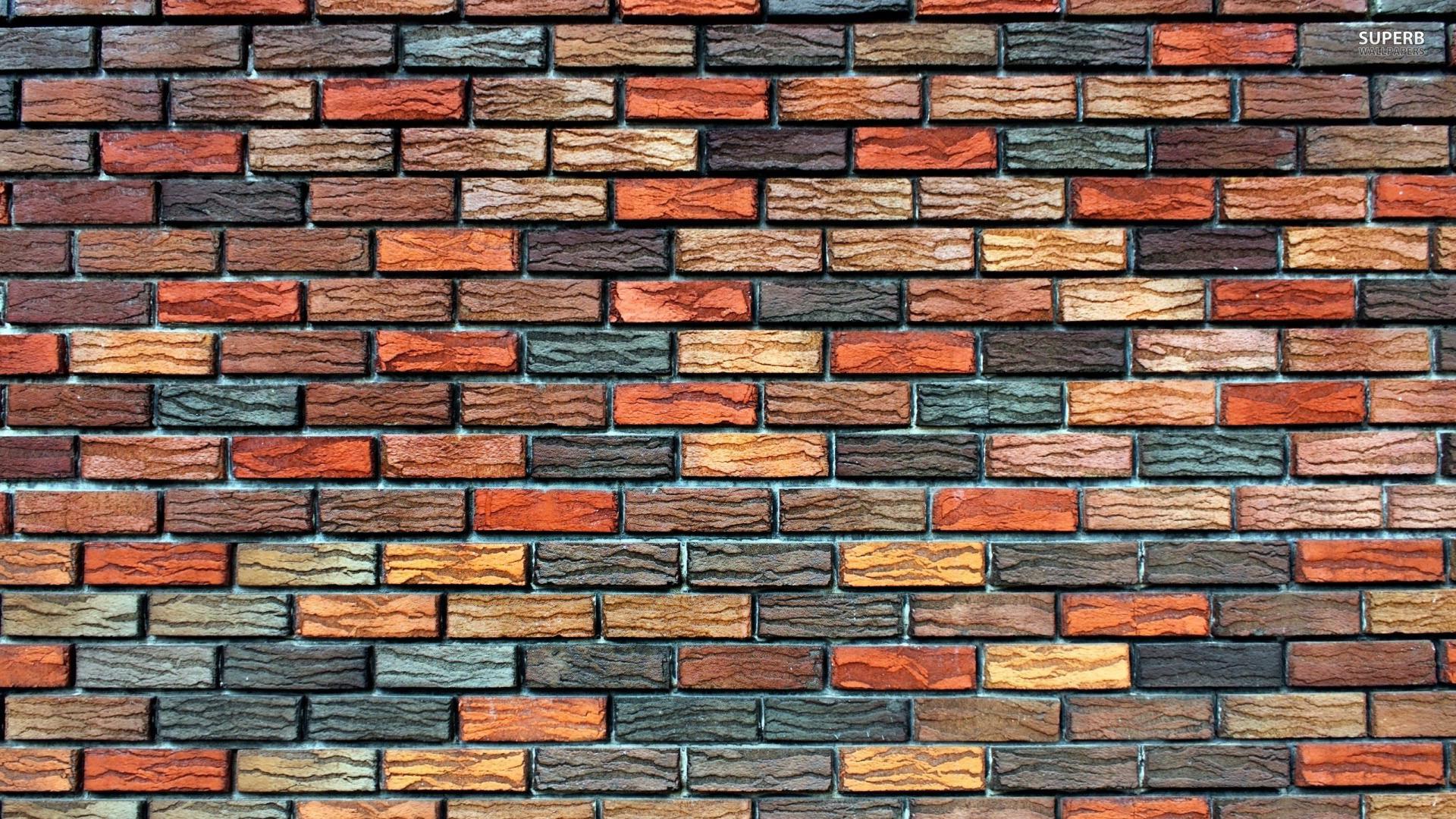 Brick wall wallpaper 1920x1080