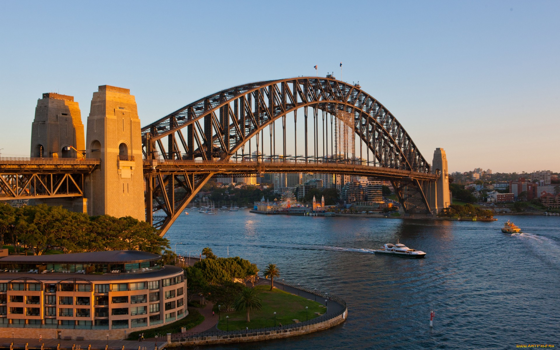 1920x1200 Man Made Sydney Harbour Bridge