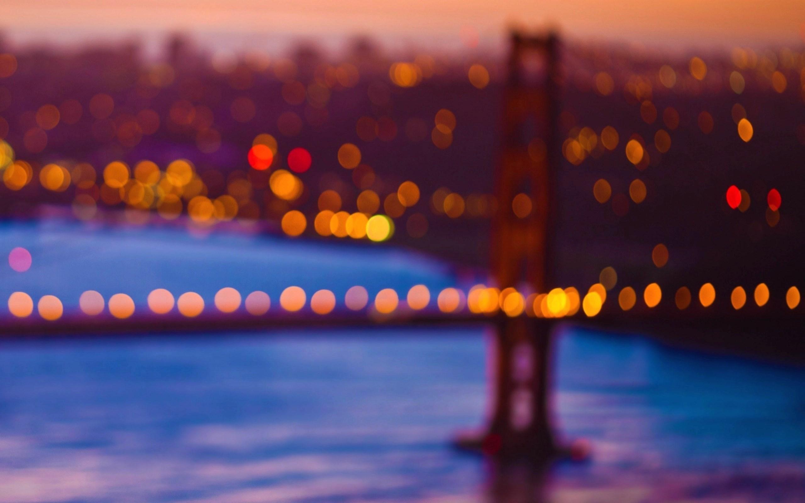 Bridge Bokeh Lights