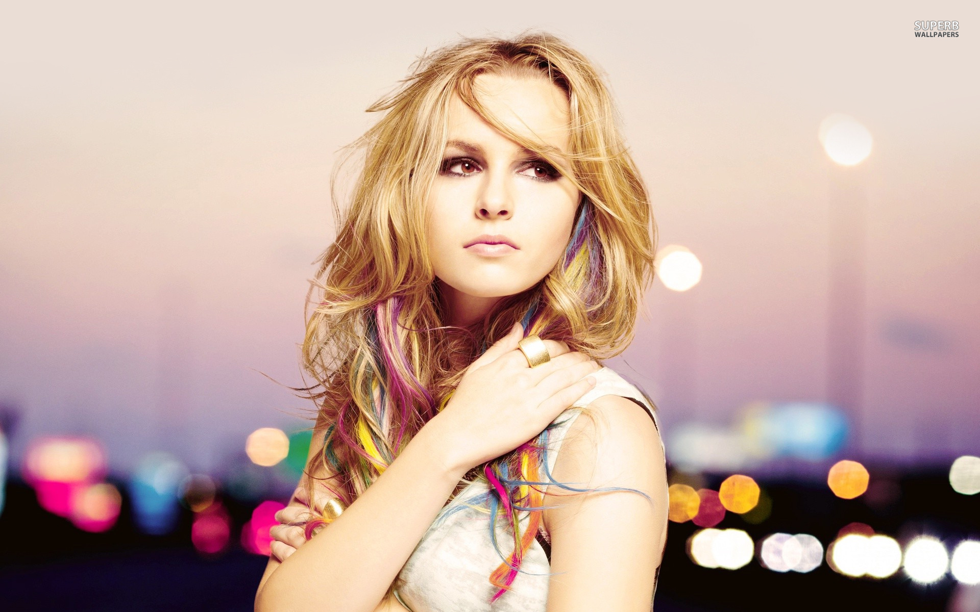 Bridgit Mendler wallpaper 1920x1200 jpg