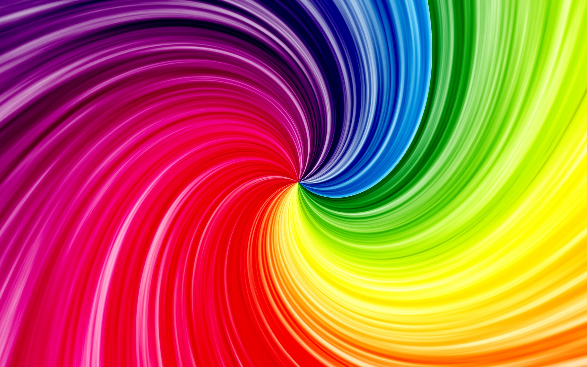 Bright colorful waves f wallpaper background