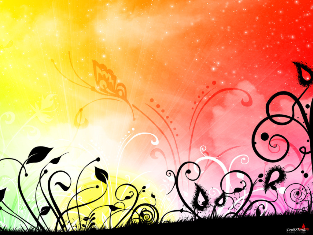 Bright Wallpaper : Rainbow Bright Wallpaper Download The Free .
