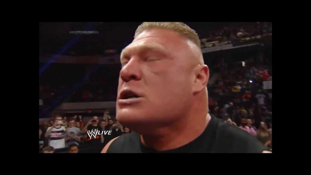 Brock Lesnar's Scream!
