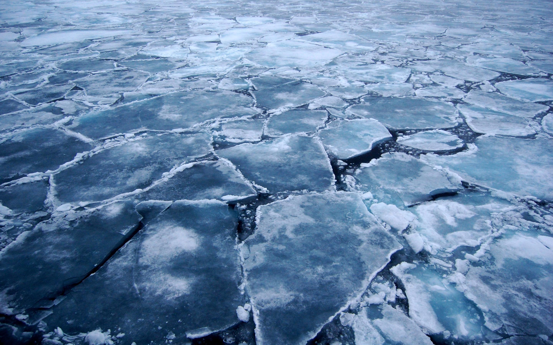 Broken Ice Wallpaper