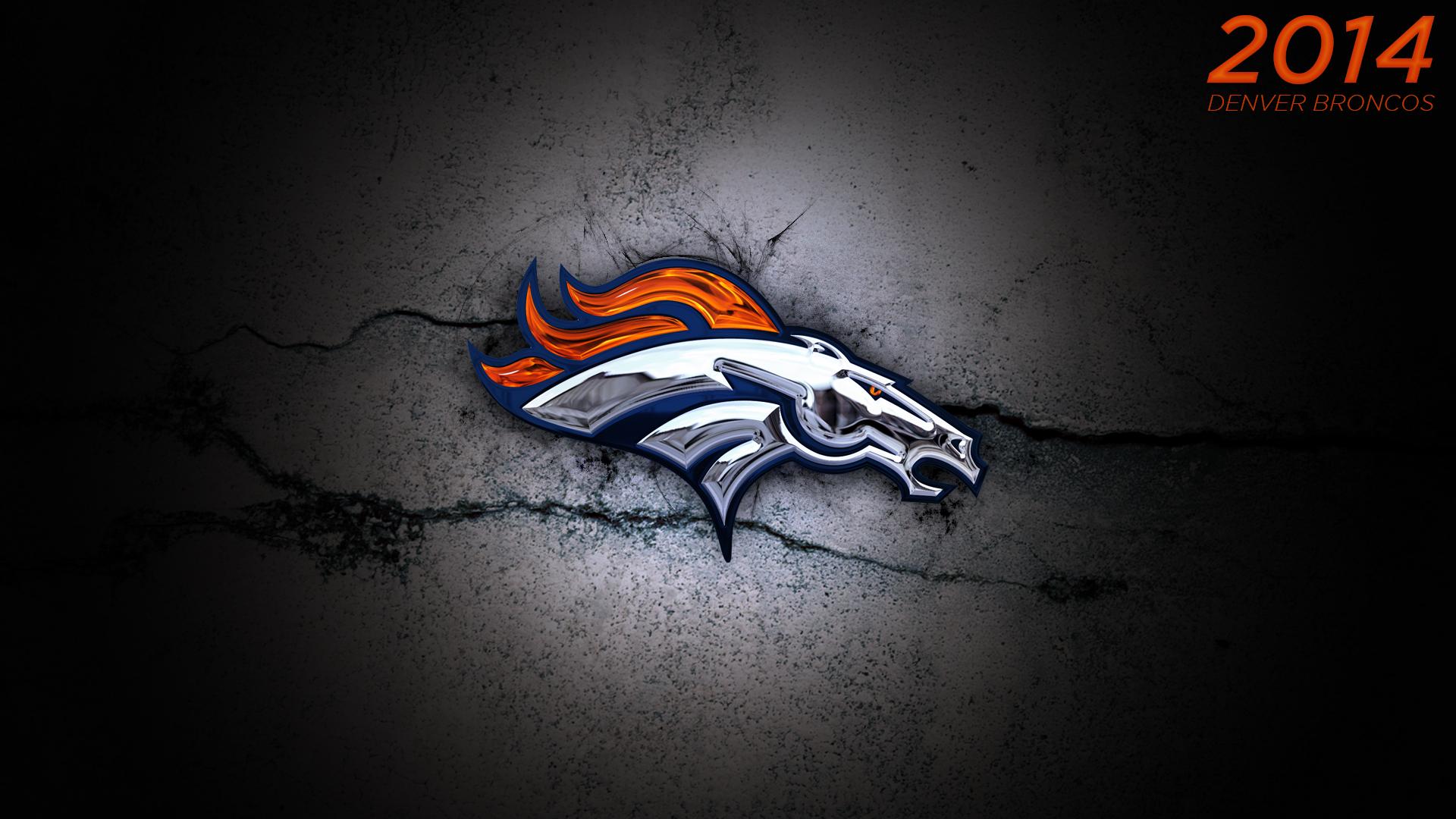 2014 Denver Broncos Logo