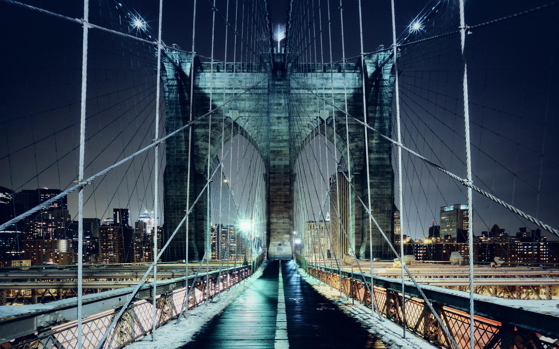 Brooklyn Bridge, Brooklyn Bridge Park and Jane's Carousel