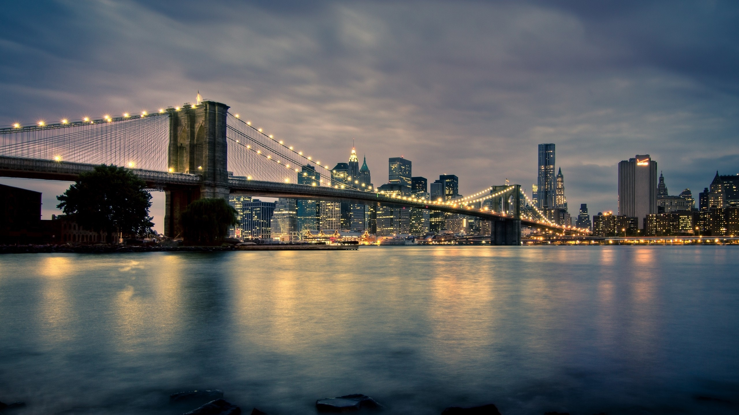 Man Made Brooklyn Bridge Wallpaper Px Free Download