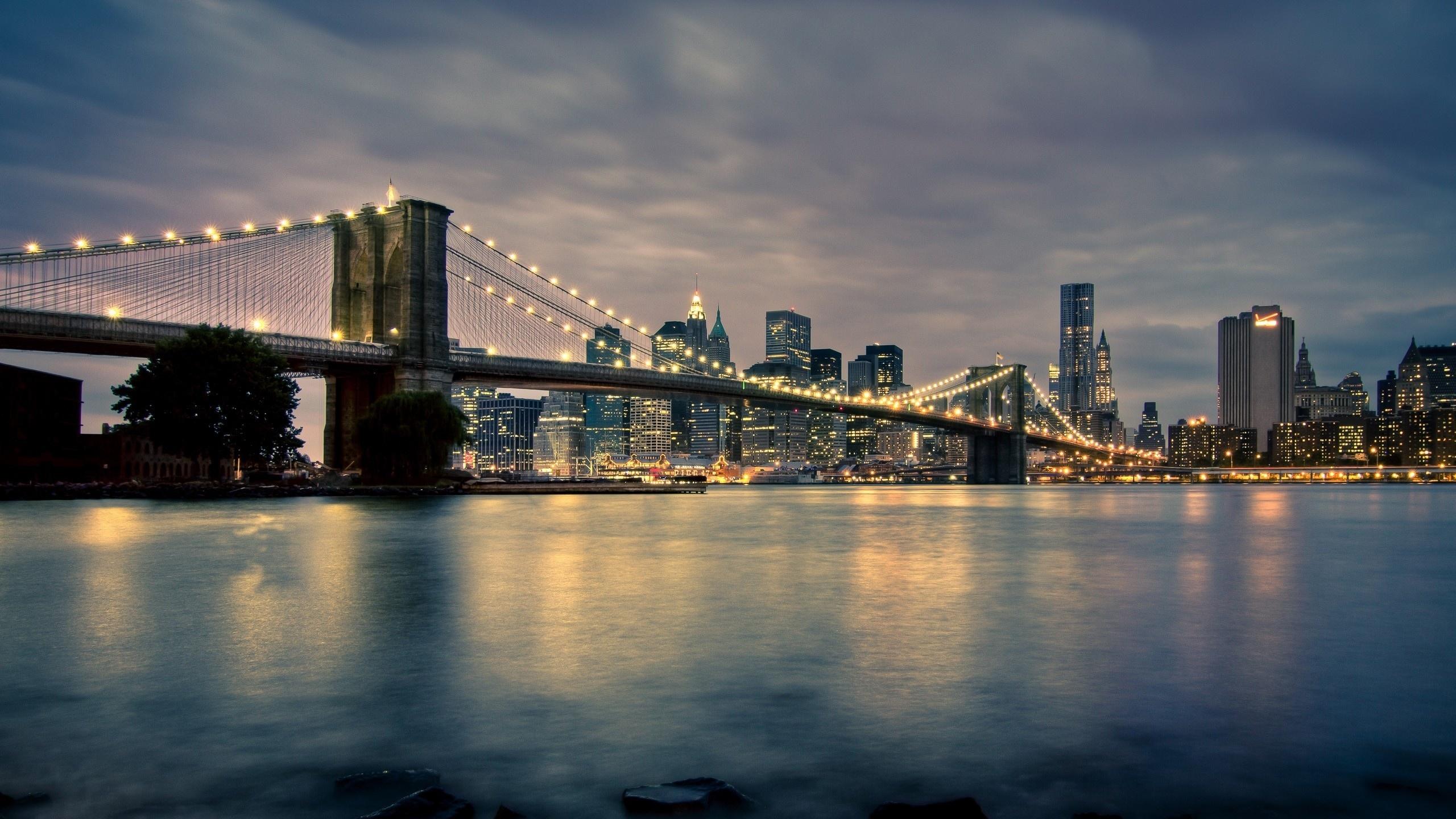 Man Made Brooklyn Bridge Wallpaper Px Free Download