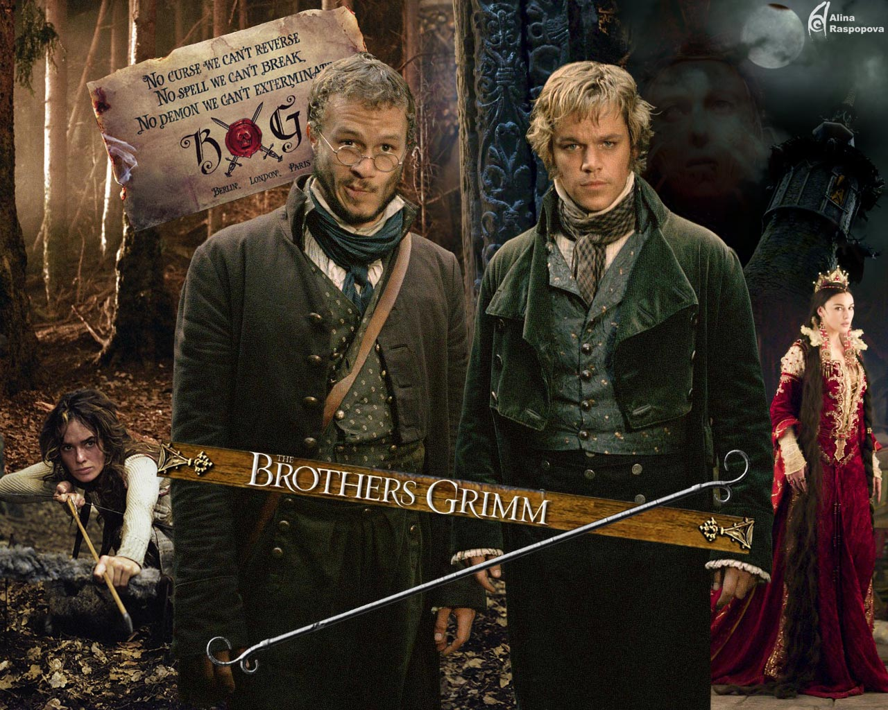 The brothers grimm heath. The brothers gr.