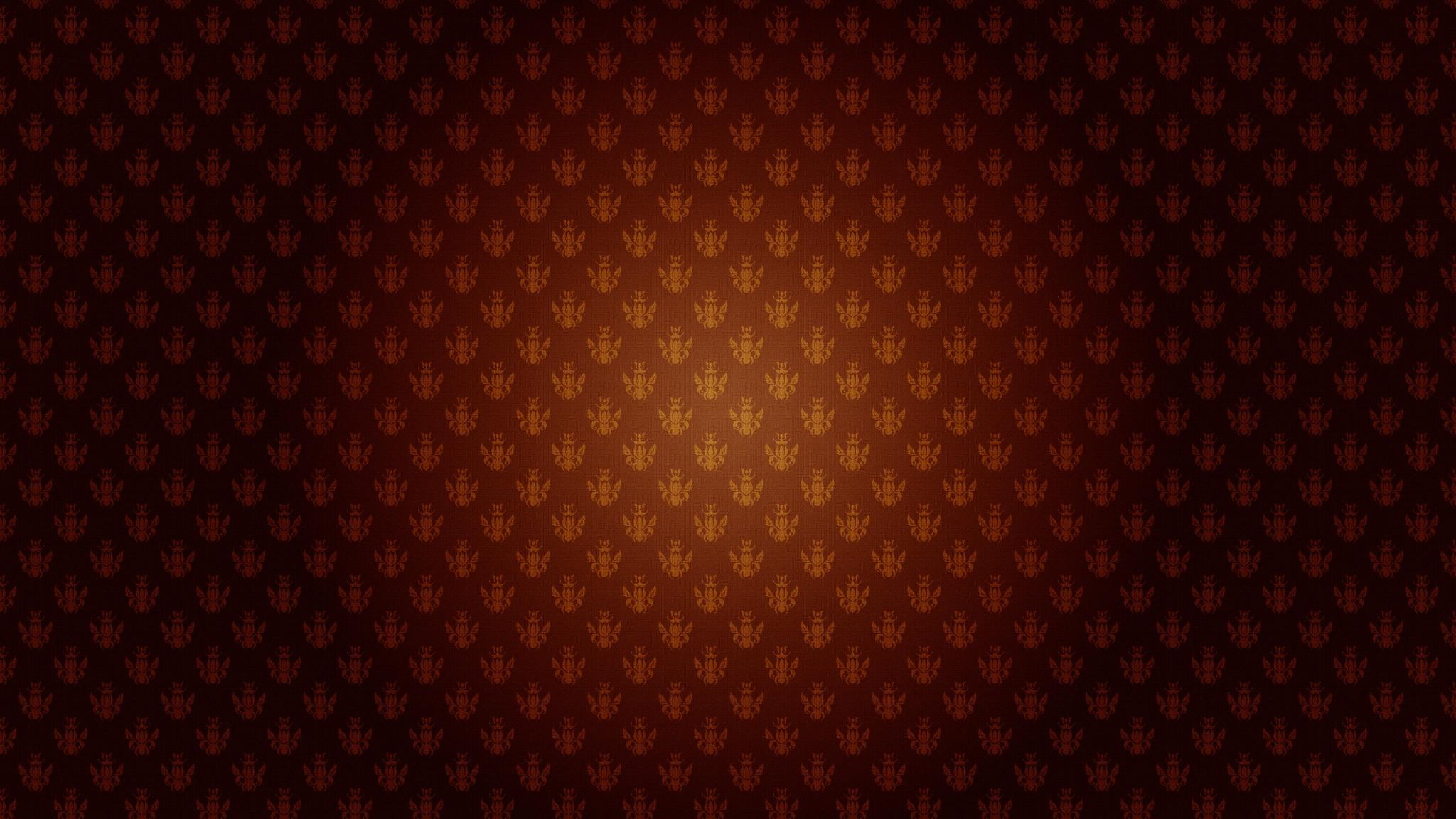 2048x1152 Wallpaper patterns, light, shadow, brown
