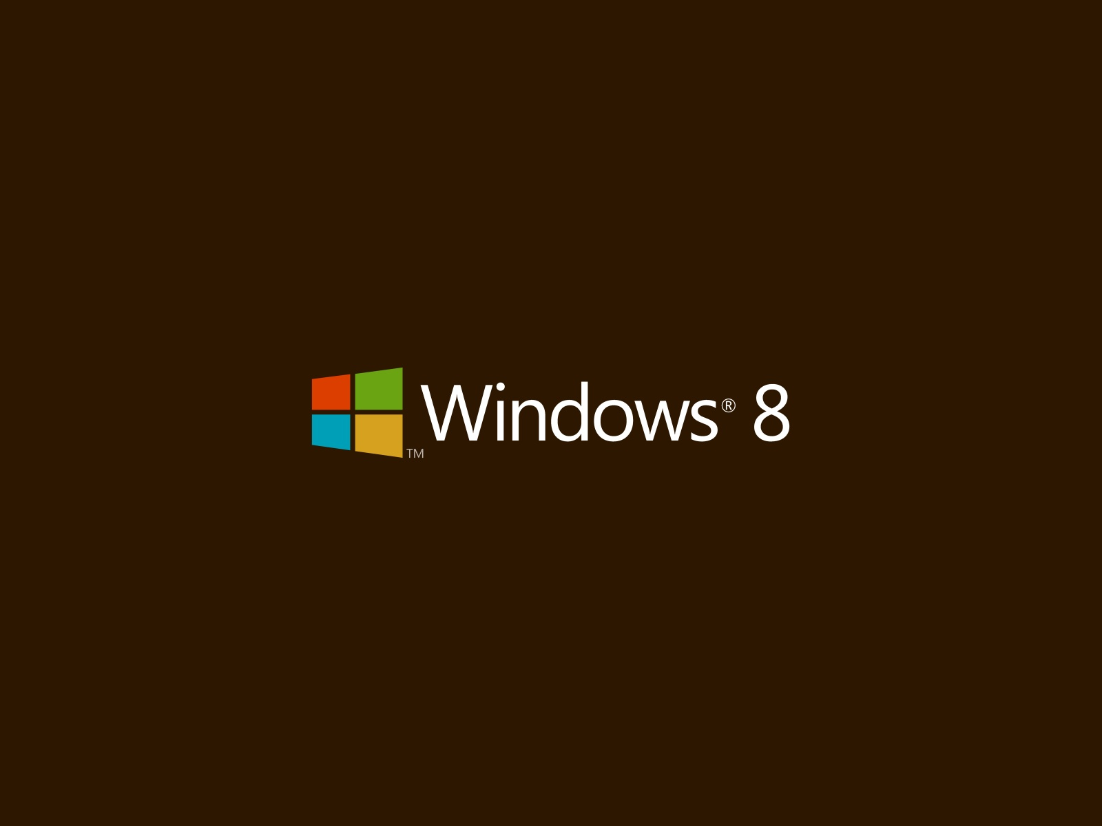 Brown Windows Background