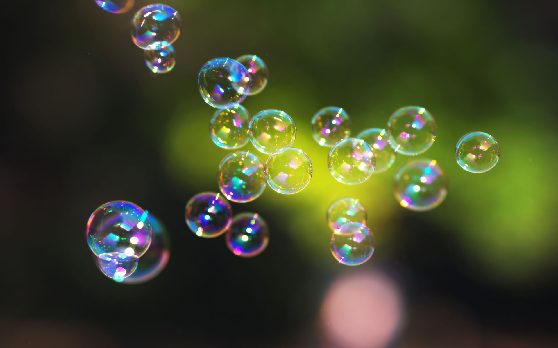 As I set the dish washing soap down on the counter, a small cluster of bubbles burst from the open top. Playfully they danced upward in front of the window.