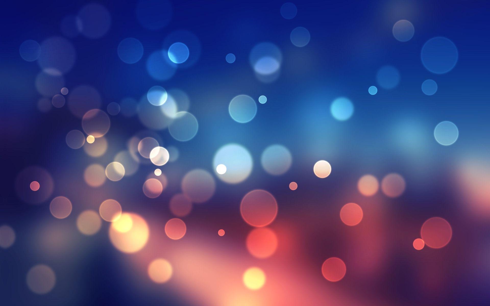 Multicolored bubbles wallpaper