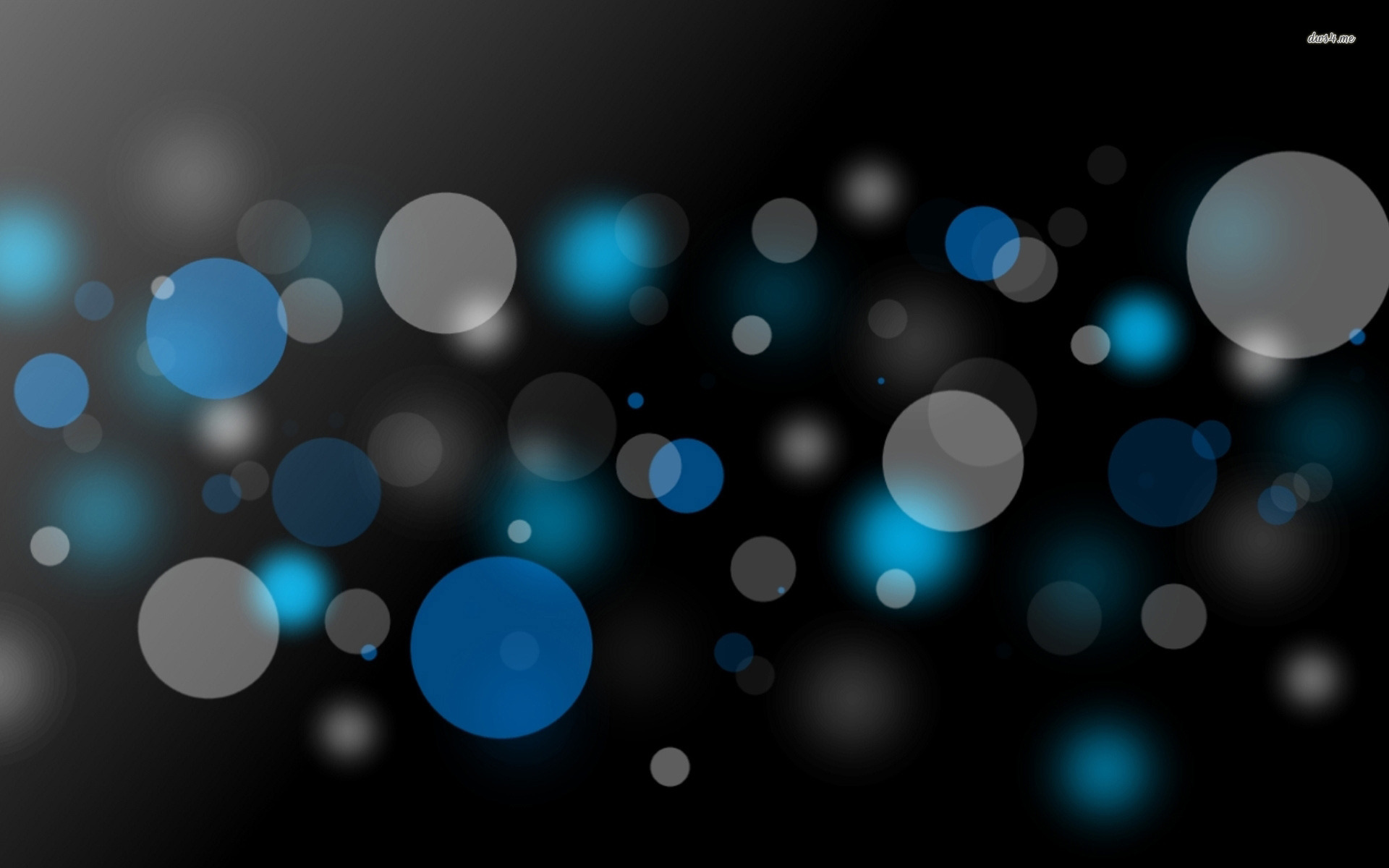... Glowing bubbles wallpaper 1920x1200 ...
