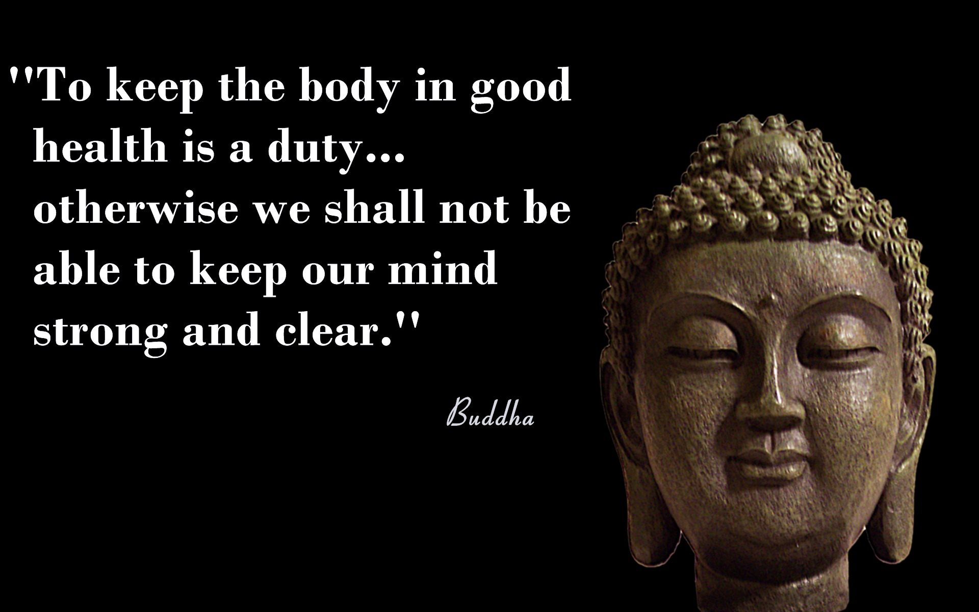 Pics for Gt Buddha Quote Iphone Wallpaper