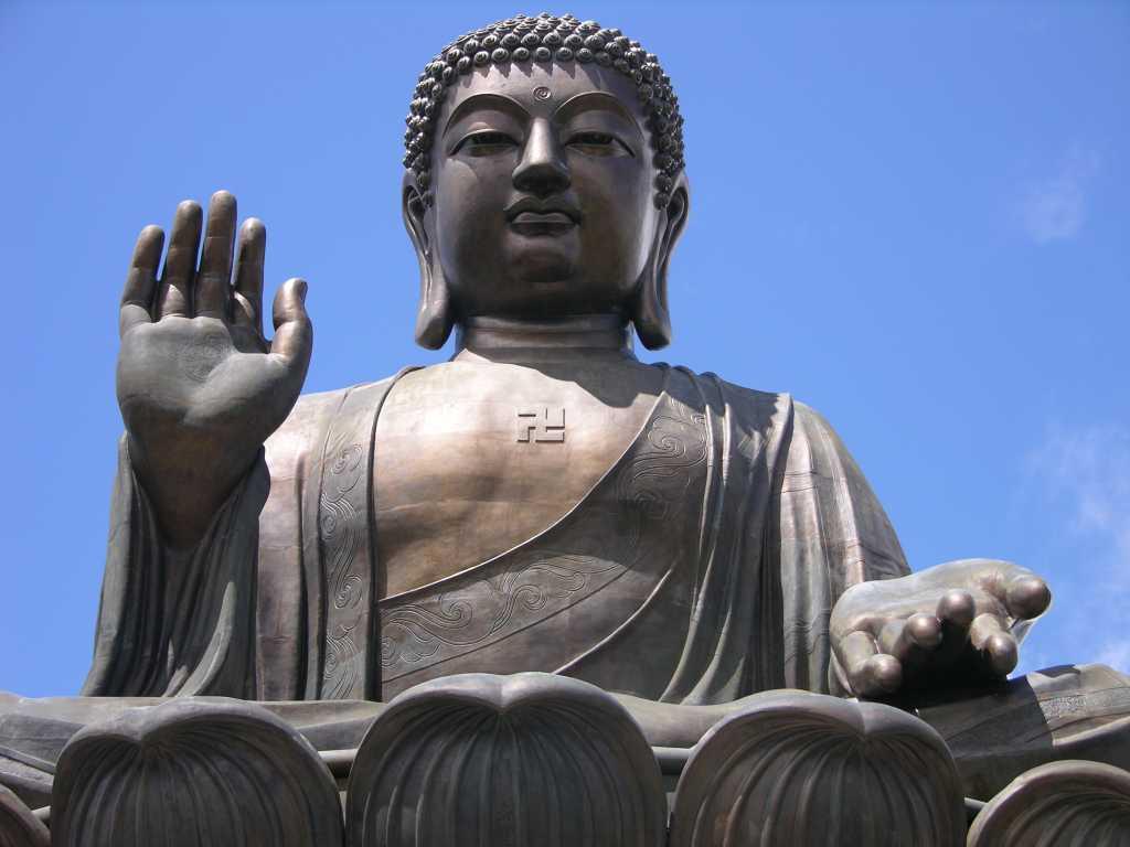 Meditating position of Buddha, Tian Tan Buddha
