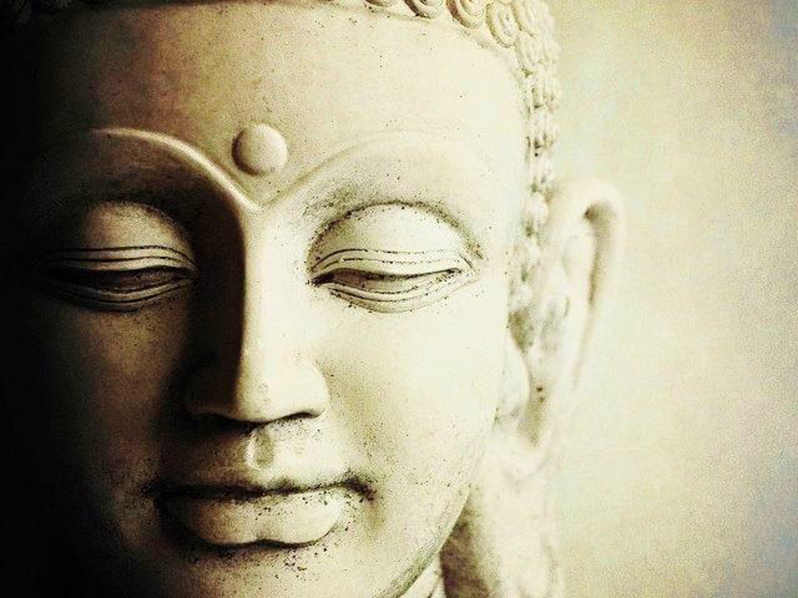 Buddha face wallpaper
