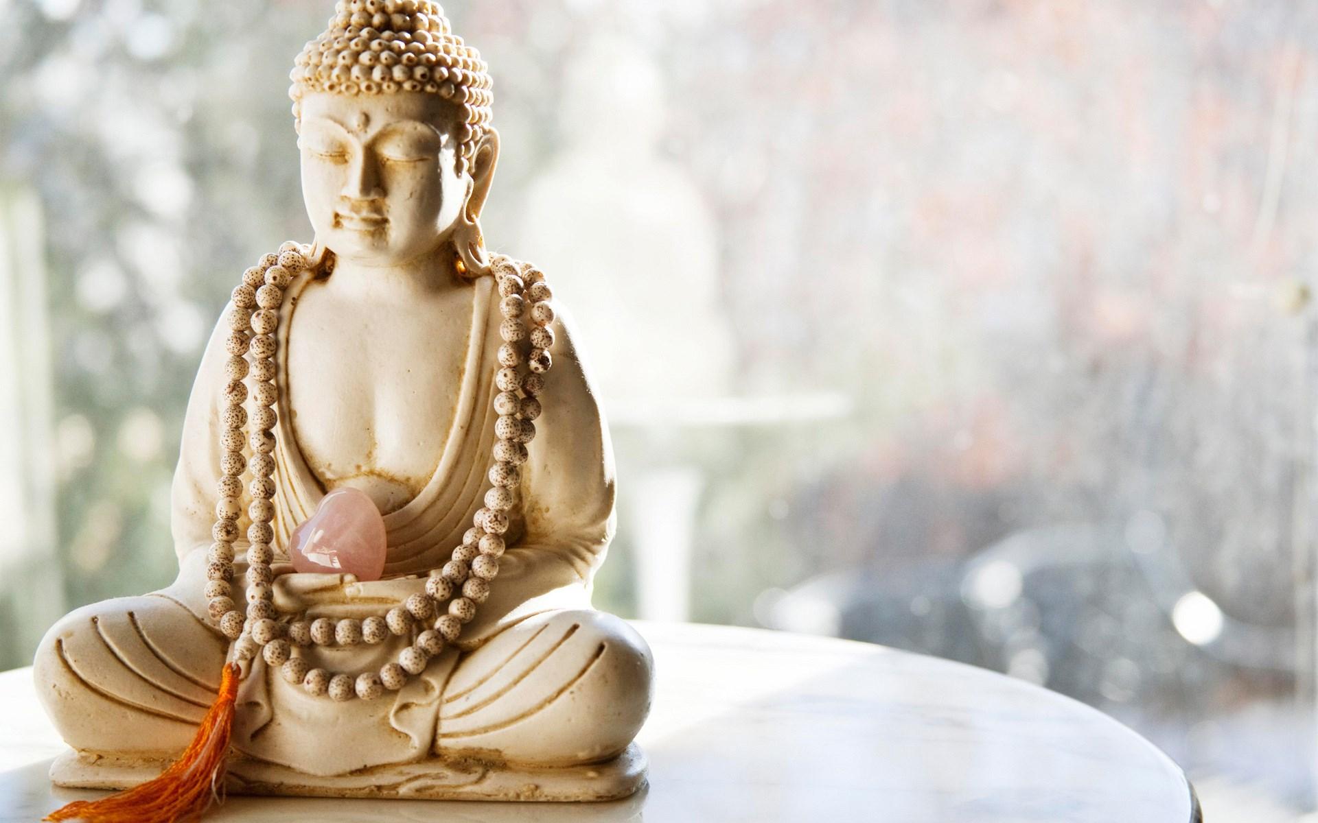 Buddha Statue Stone Heart